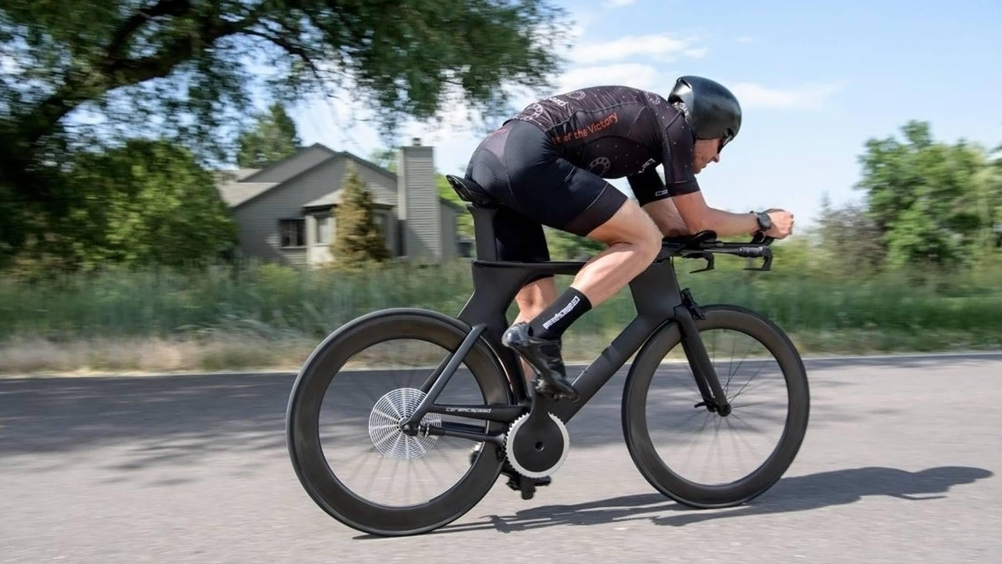 Auf der EuroBike 2018 sorgte dieses Fahrrad für Aufsehen.