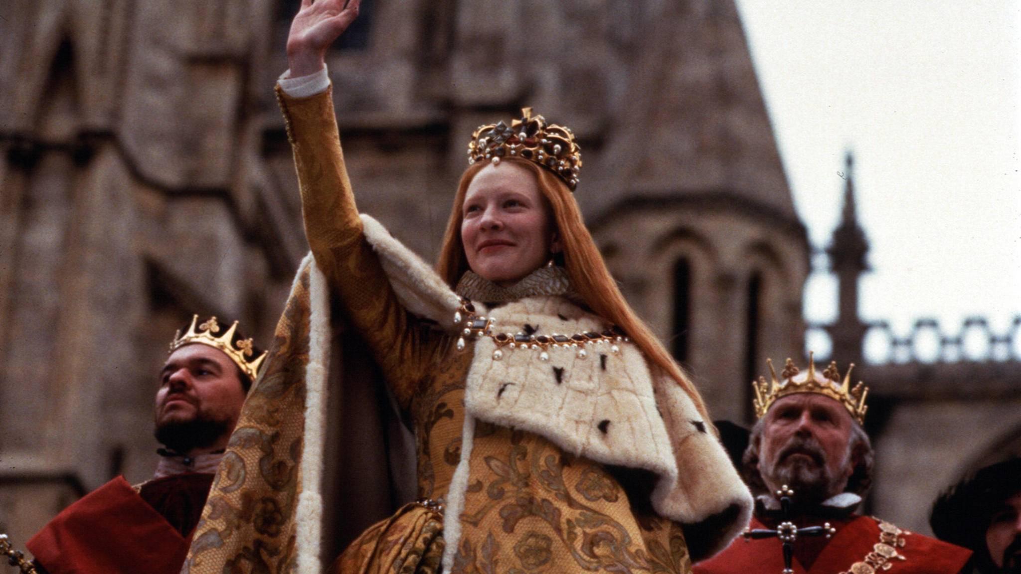 Cate Blanchett verwandelte sich 1998 in Königin Elizabeth.