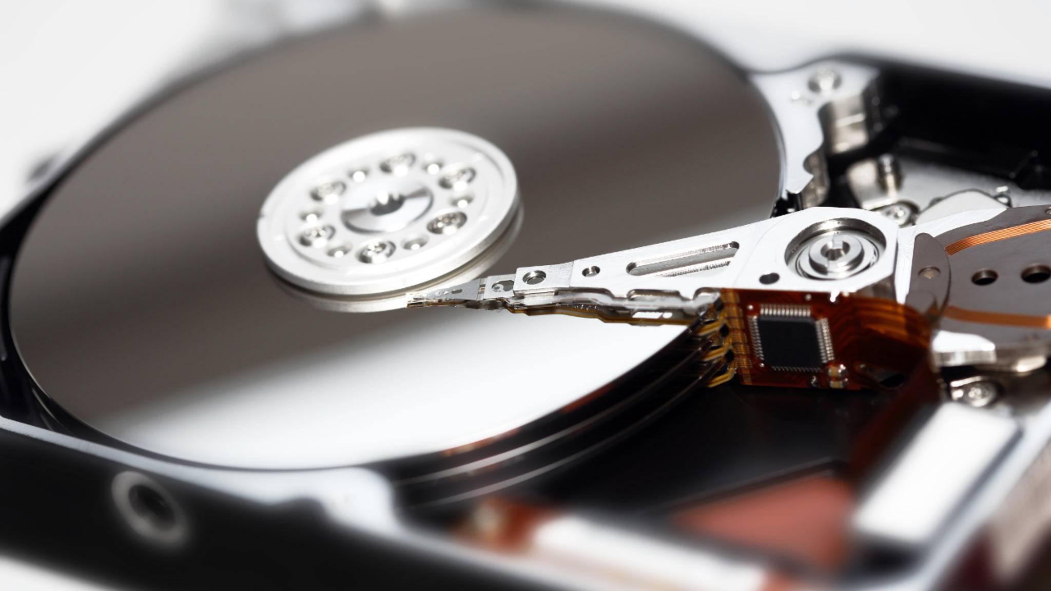 Mit Recovery-Tools können gelöschte Dateien wiederhergestellt werden.