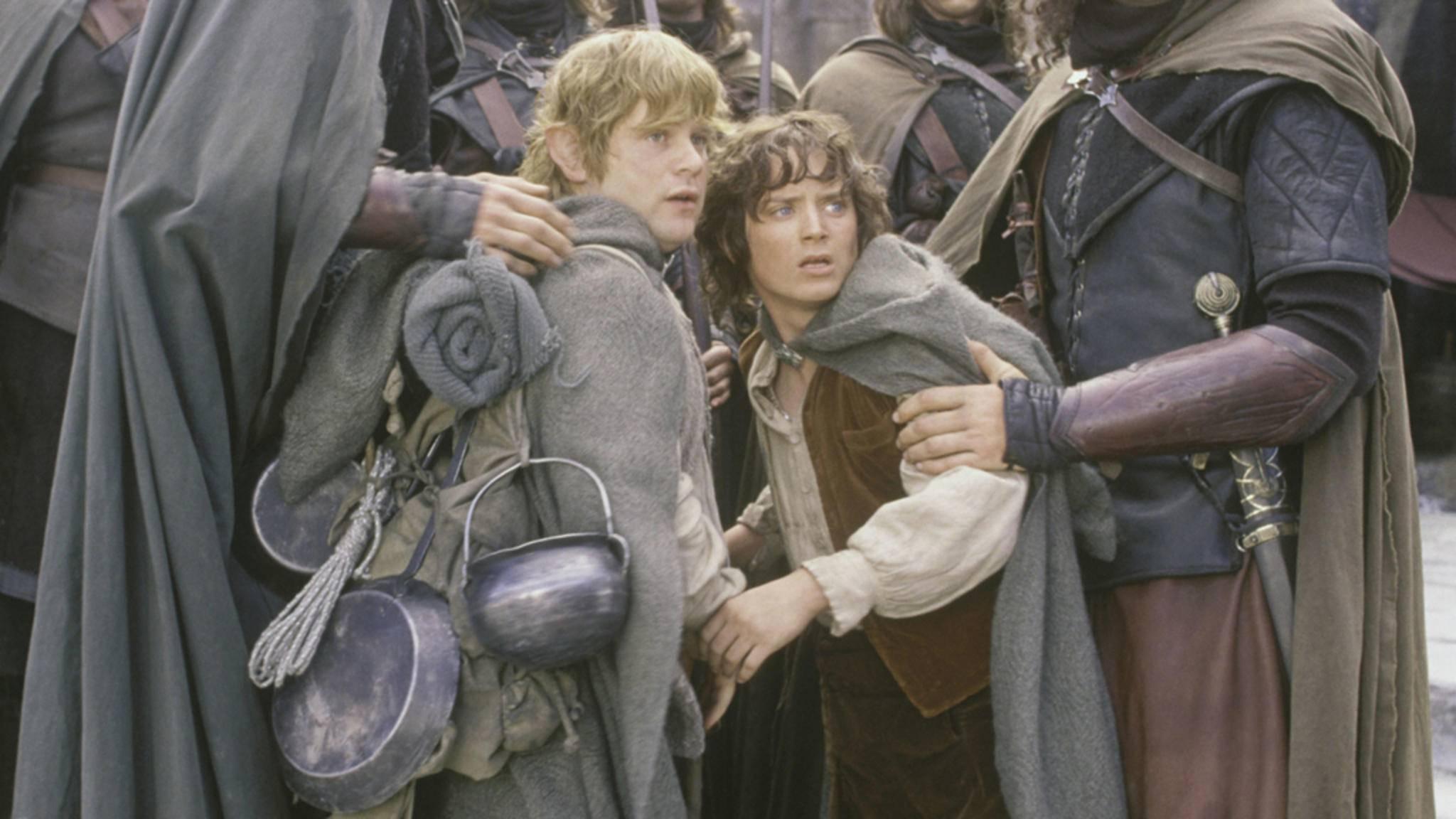 """Nicht so schreckhaft, Sam und Frodo! Bald wissen wir hoffentlich, worum es in der """"Herr der Ringe""""-Serie gehen wird."""