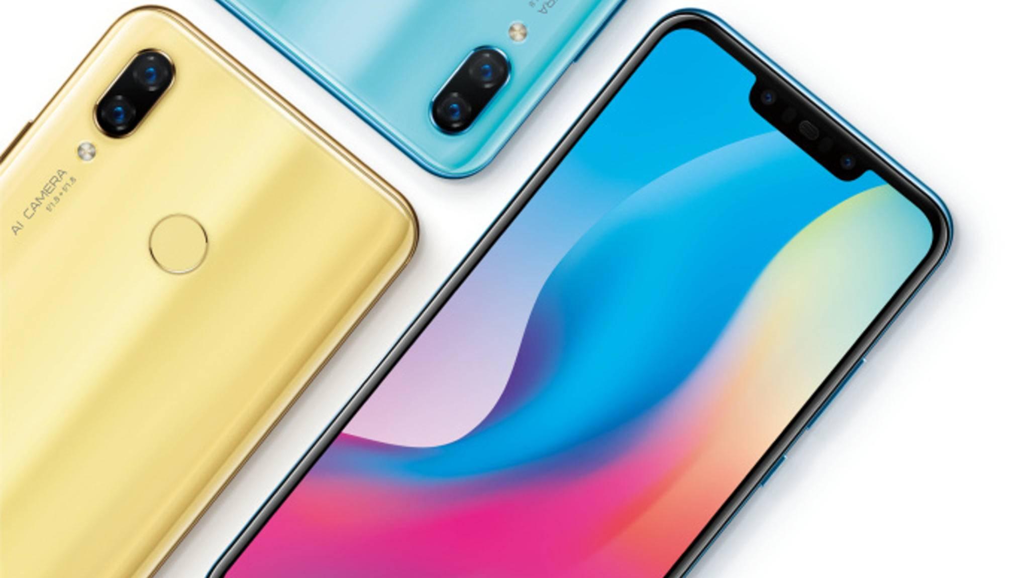 Das Huawei Nova 3 wird in der kommenden Woche in China vorgestellt.