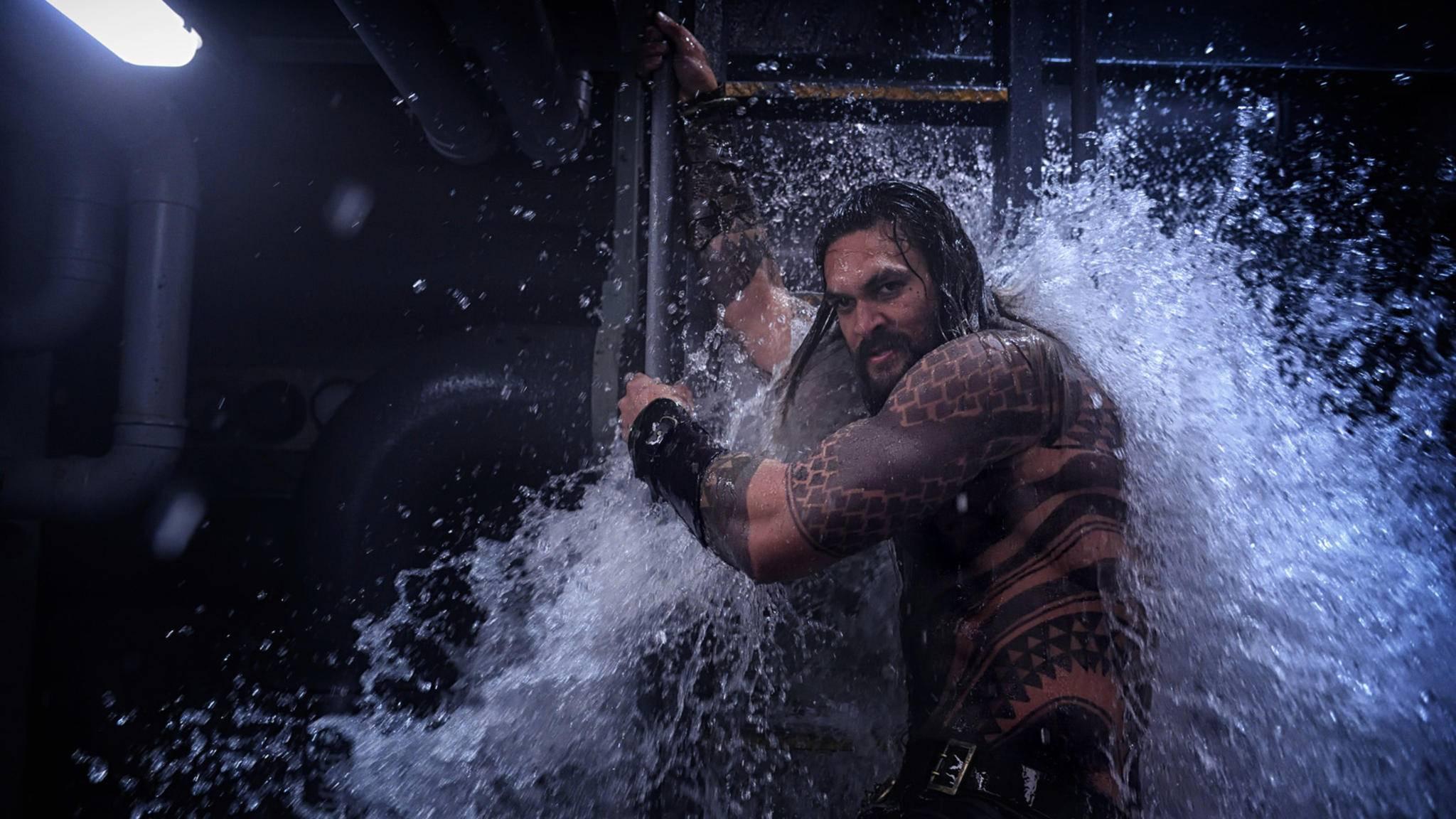 """Schon vor der SDCC erreicht die DC-Fans eine Flut an """"Aquaman""""-Impressionen."""