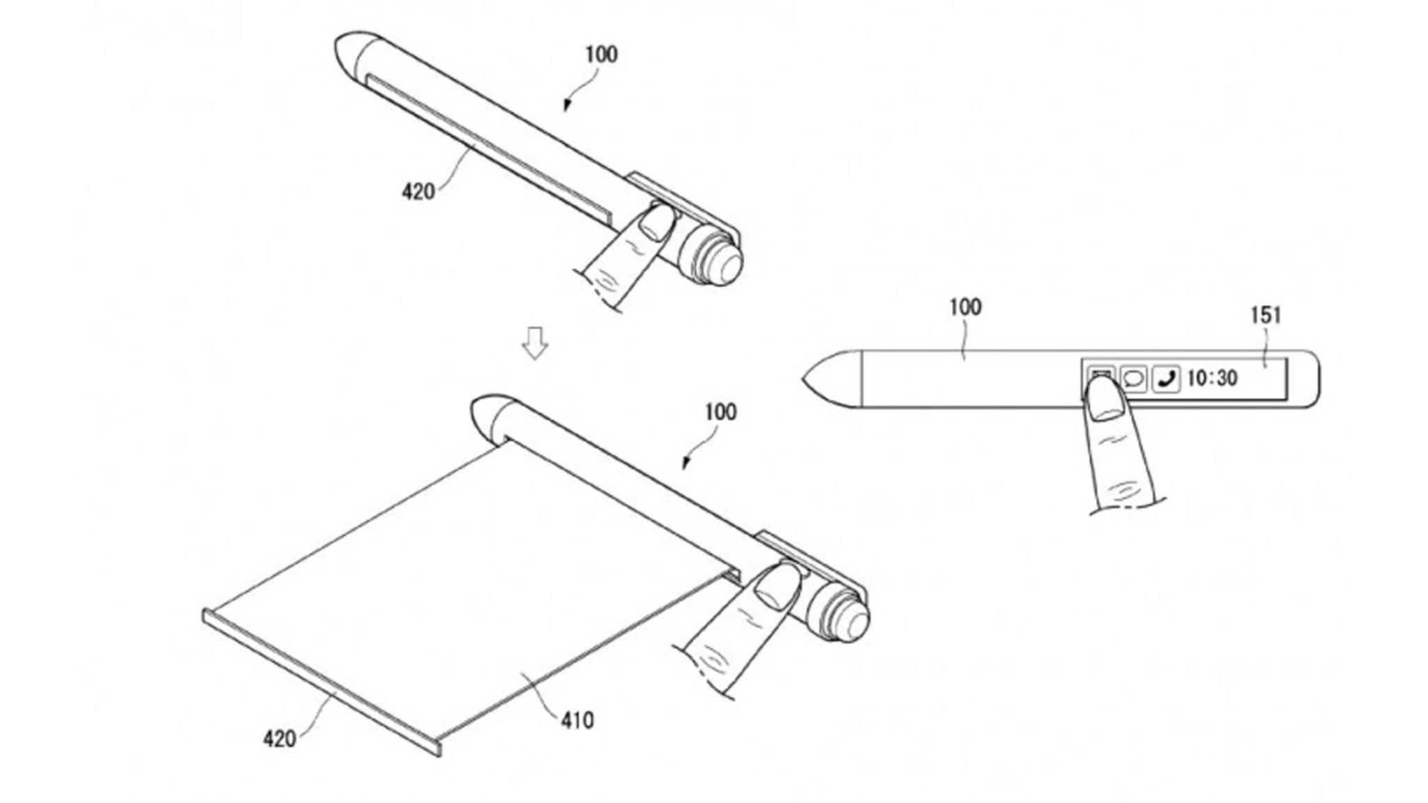 LG will einen kuriosen Stylus patentieren lassen.