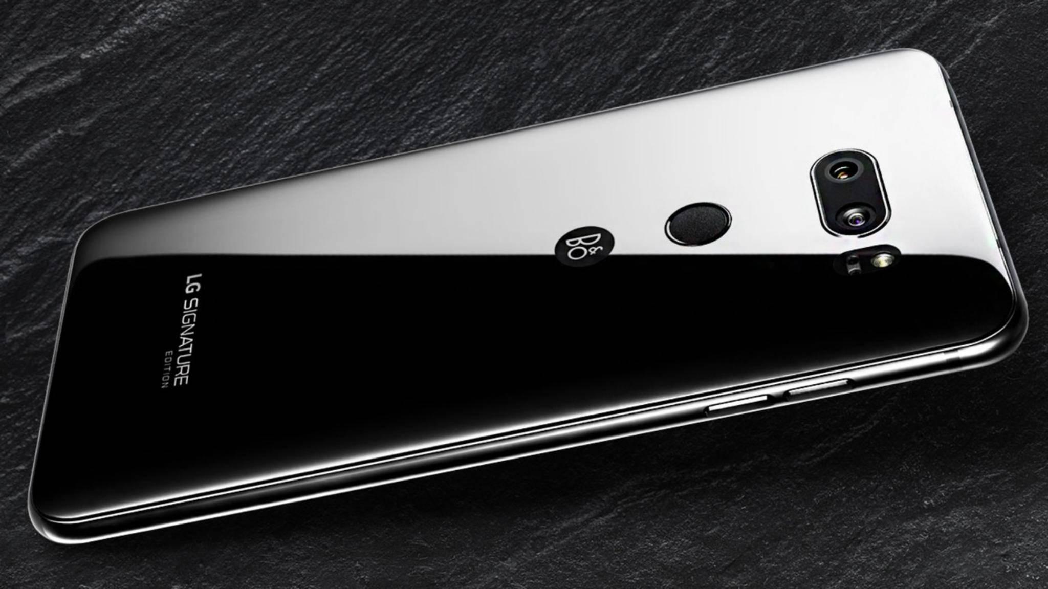 Die Signature-Edition des LG V35 zählt zu den teuersten Smartphones.