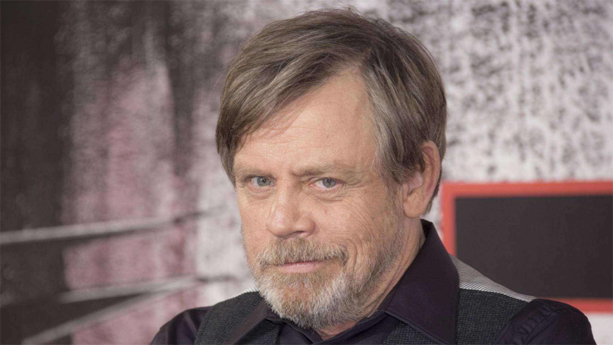 Führt seine Fans gerne an der Nase herum: Luke-Skywalker-Darsteller Mark Hamill.