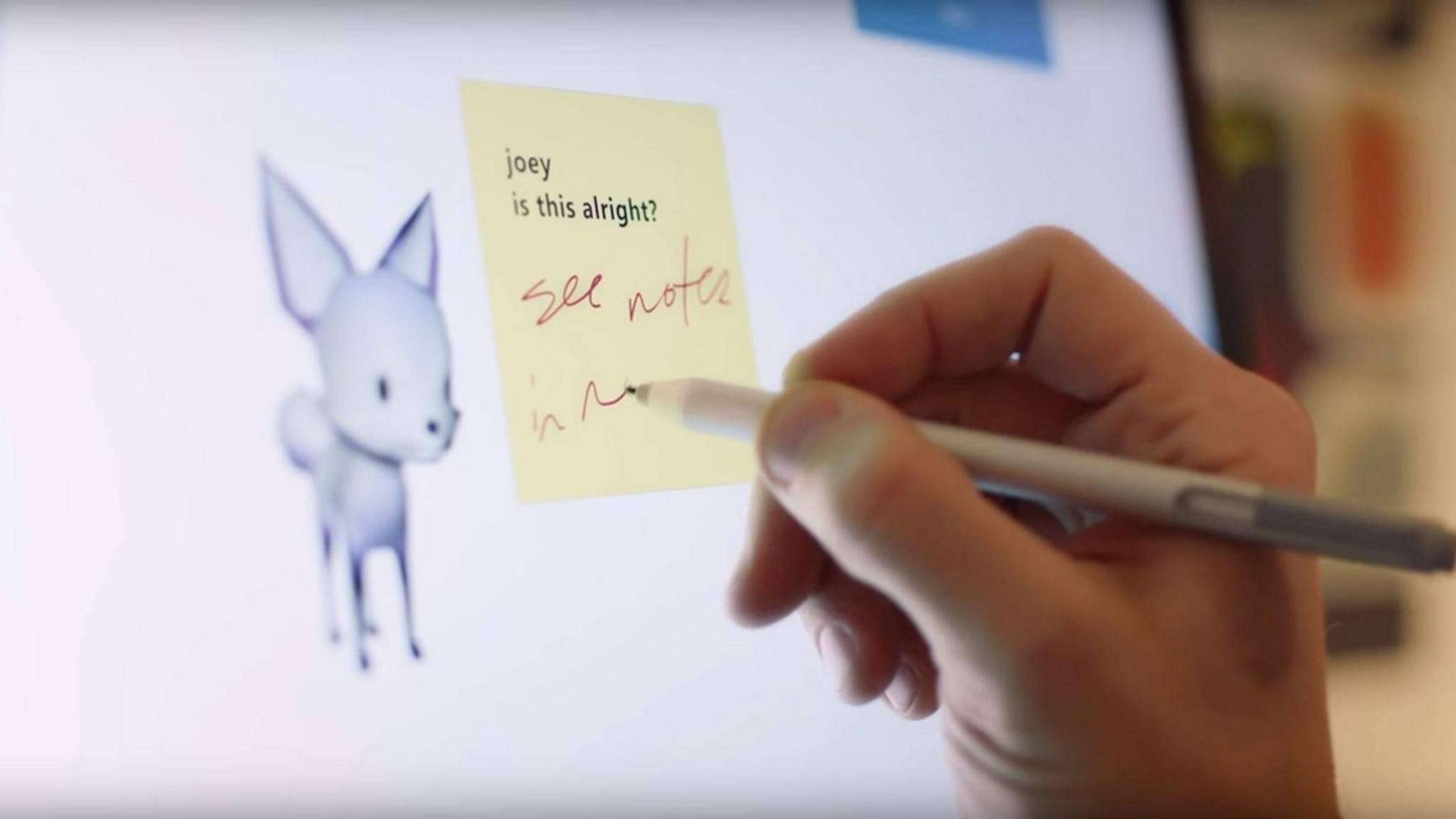 Whiteboard ist eine neue App für Teamarbeiten an PC und Tablet.