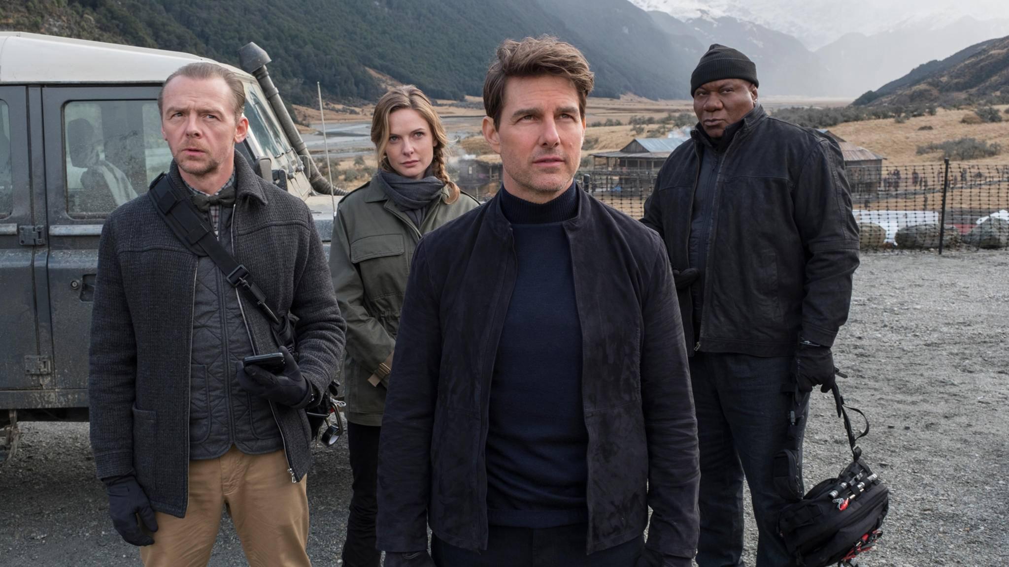 Endlich bekommt das Team um Ethan Hunt (Tom Cruise, Mitte) dauerhaft weibliche Verstärkung.