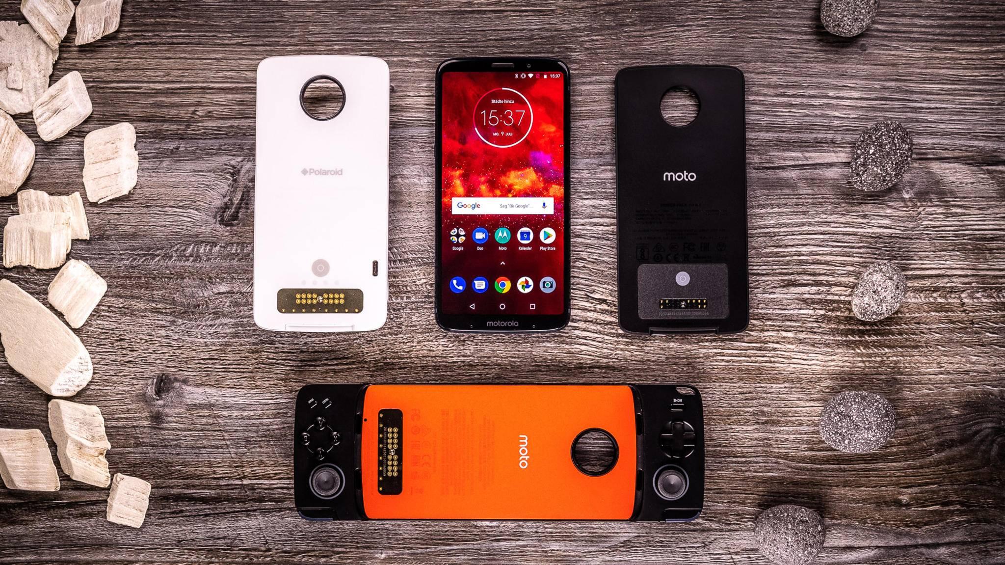 Huawei plant offenbar Smartphone-Cases ähnlich den Moto Mods (Foto).