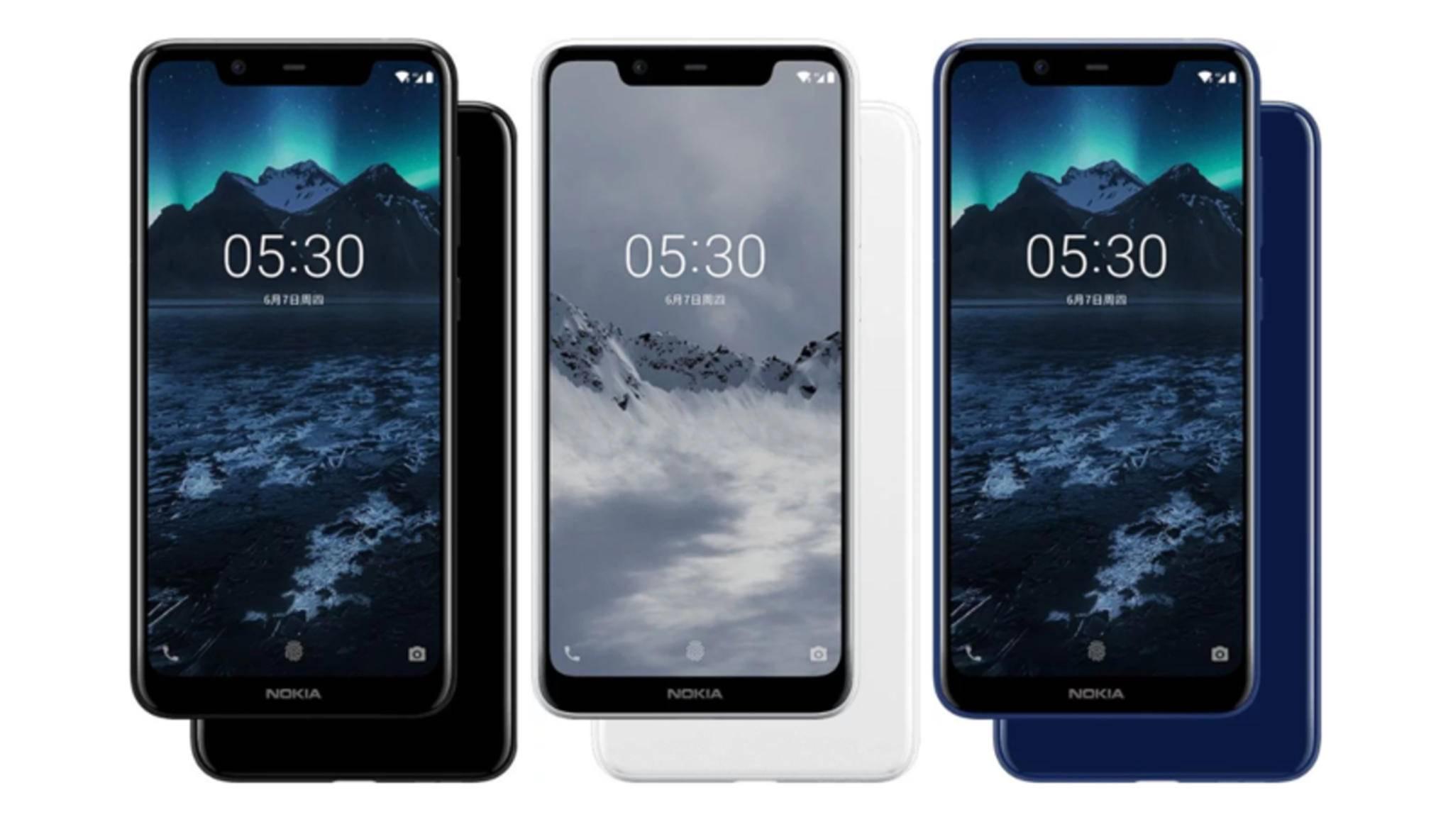 Das Nokia X5 – beziehungsweise Nokia 5.1. Plus – wurde jetzt vorgestellt.