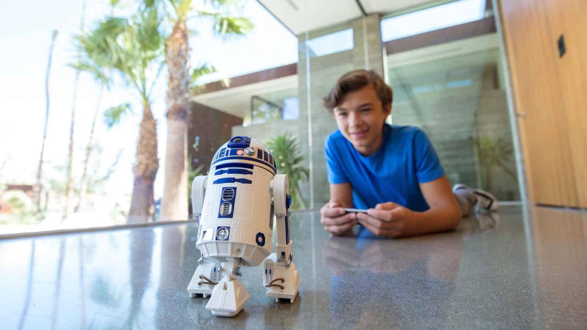Auch R2-D2 gehört zu den Smart-Toys, die wir sehr gerne selber hätten ...