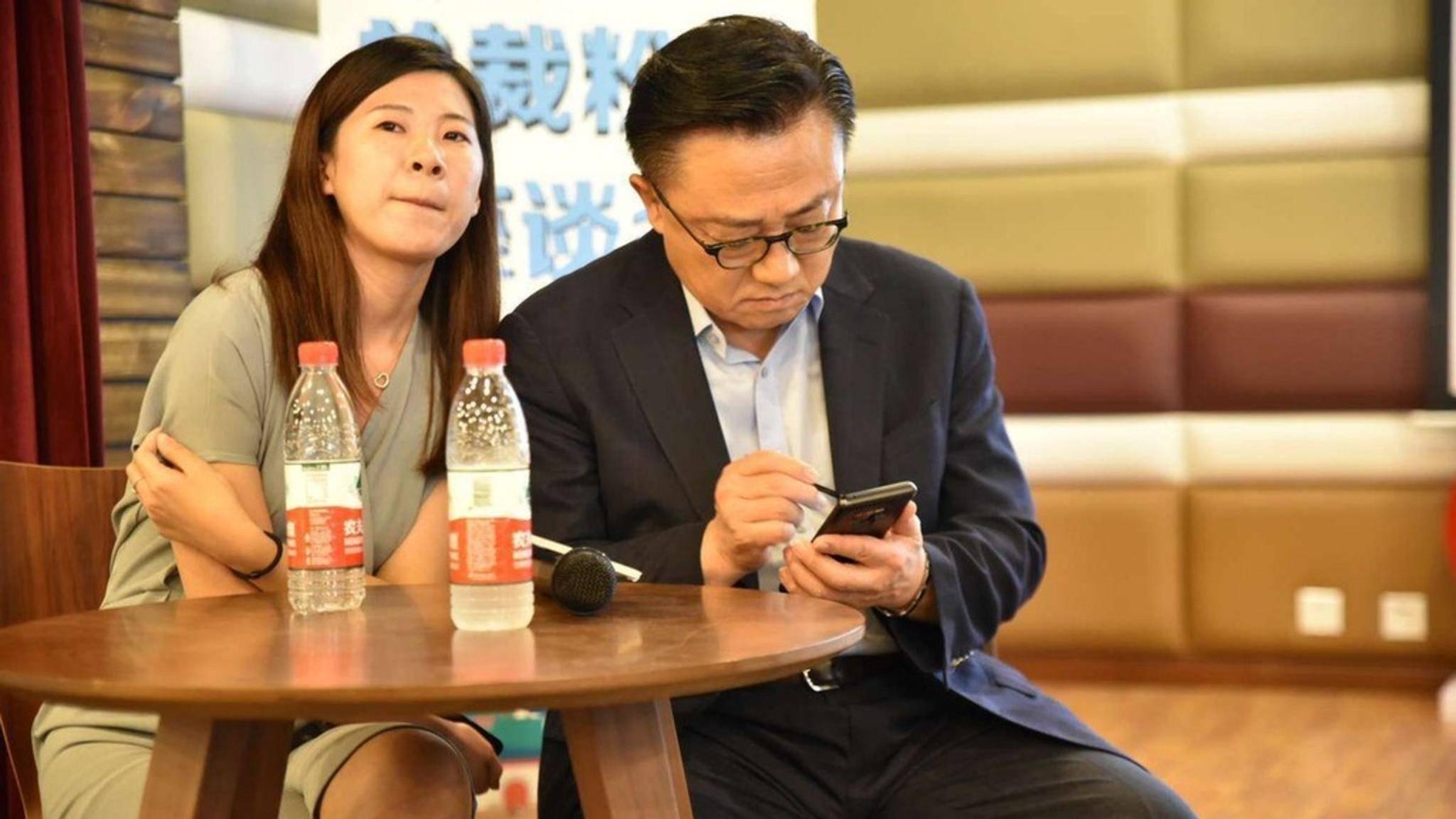 Samsung-Chef DJ Koh verwendete das Galaxy Note 9 bereits bei einem Event in Wuhan, China.