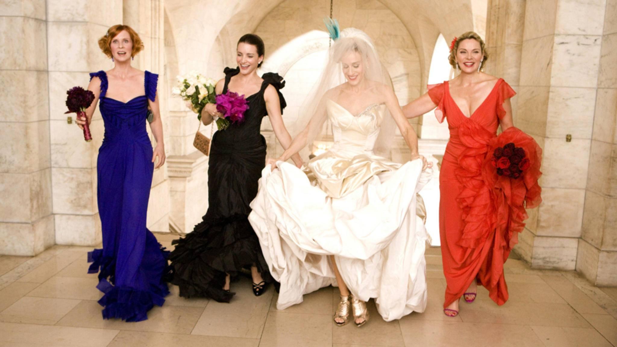 Dreamteam: Miranda, Charlotte, Carrie und Samantha sind heute wahre TV-Ikonen.