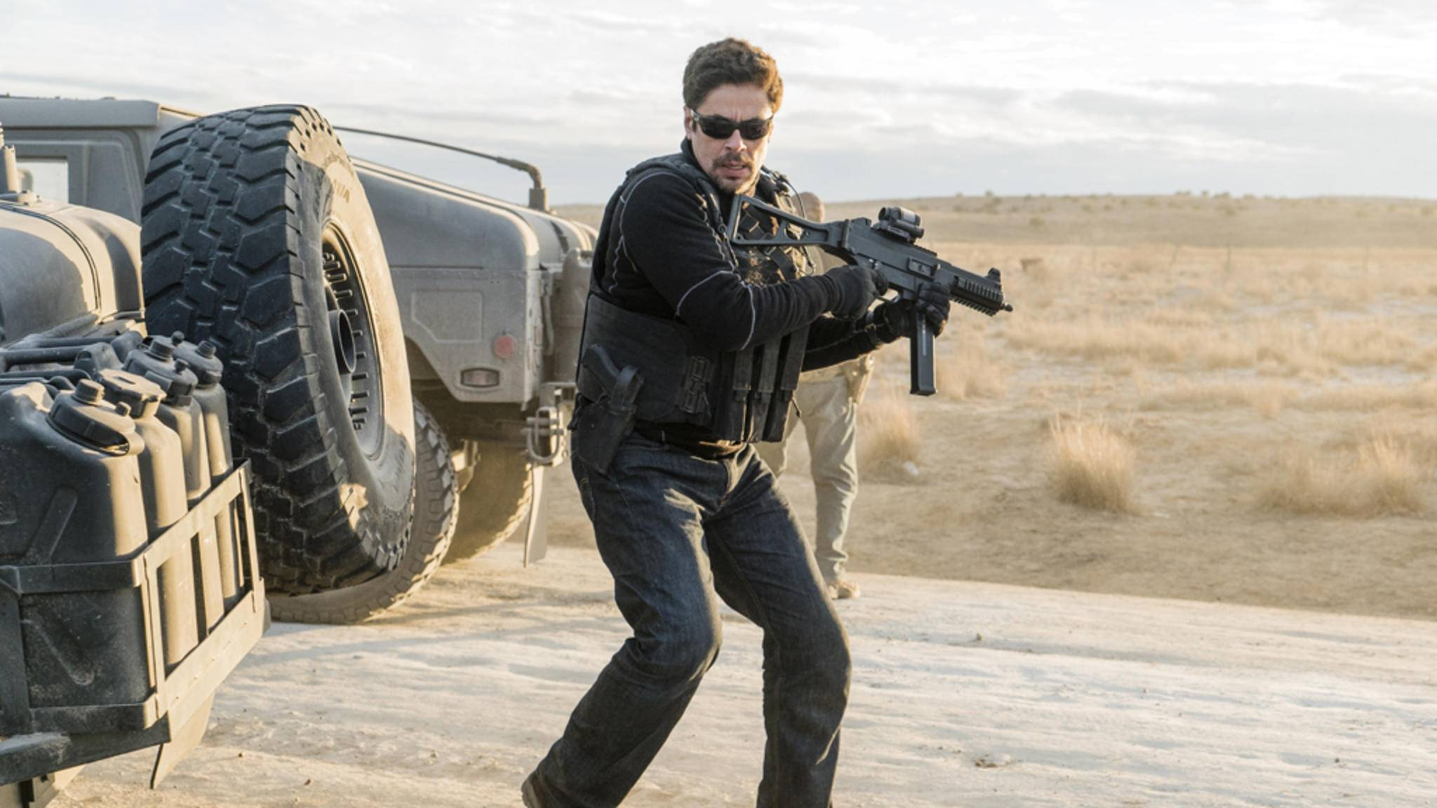 Benicio Del Toro kehrt als Alejandro auf die Leinwand zurück.