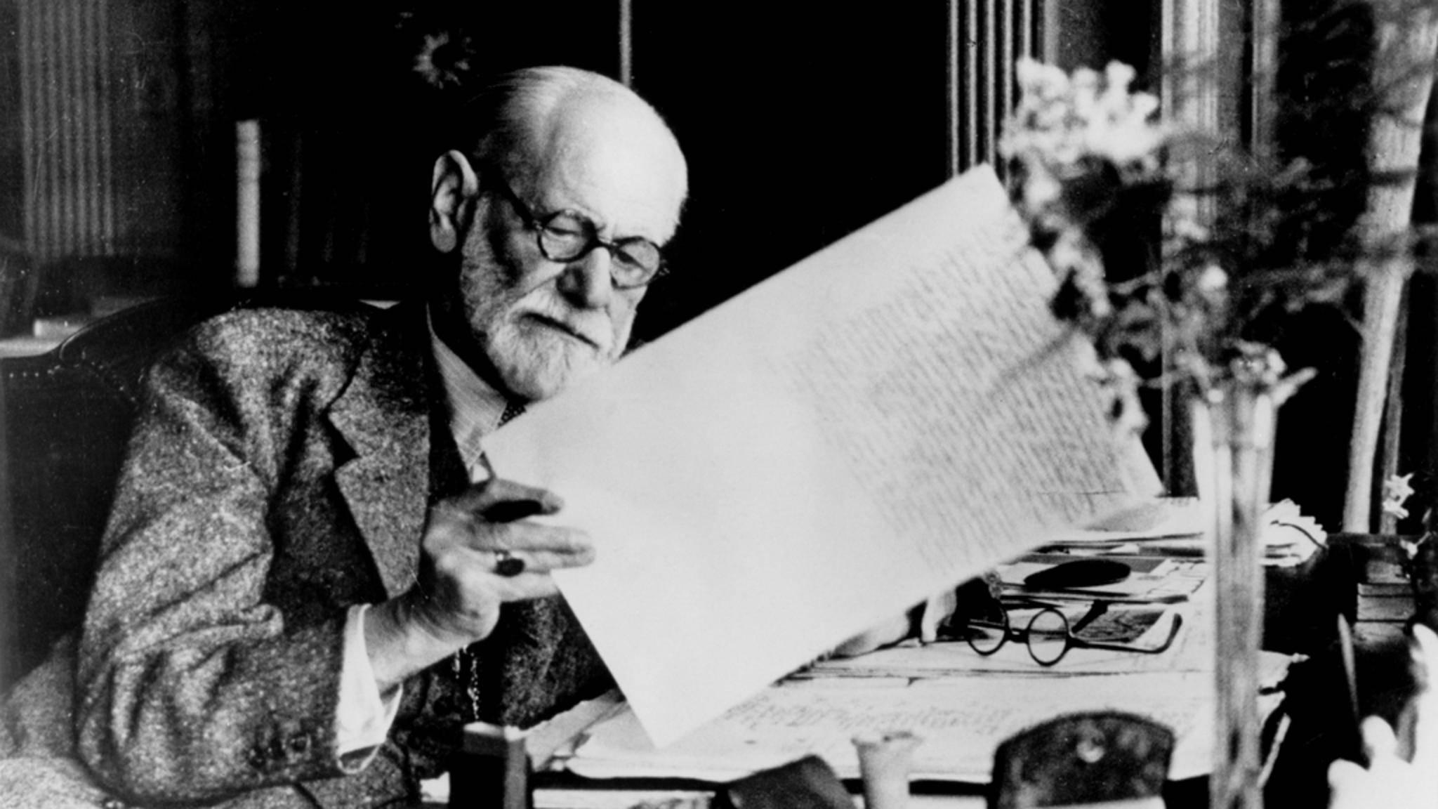 Sigmund Freud gilt als einer der einflussreichsten Tiefenpsychologen des 20. Jahrhunderts.