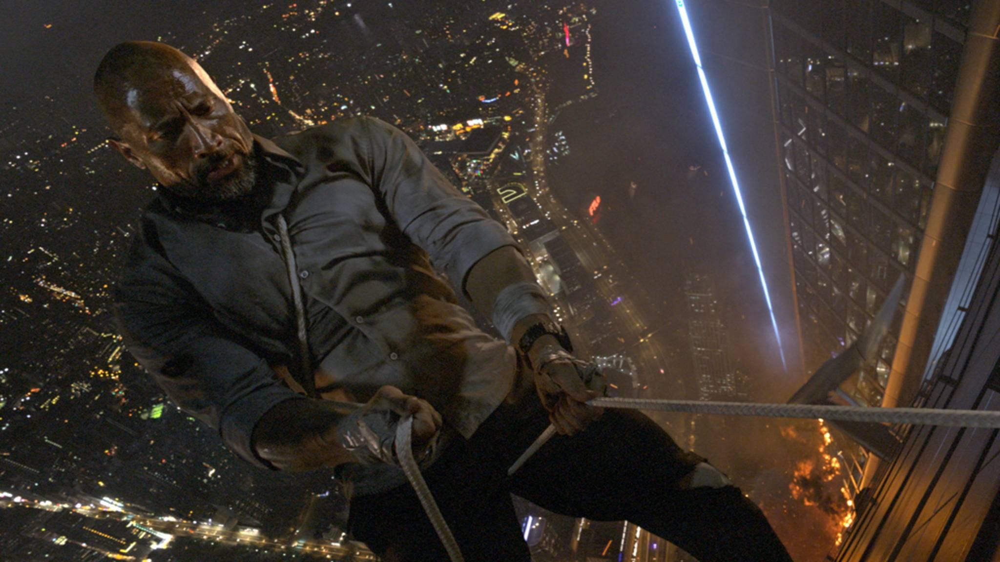 """In """"Skyscraper"""" gibt es waghalsige Kletterpartien zu sehen."""