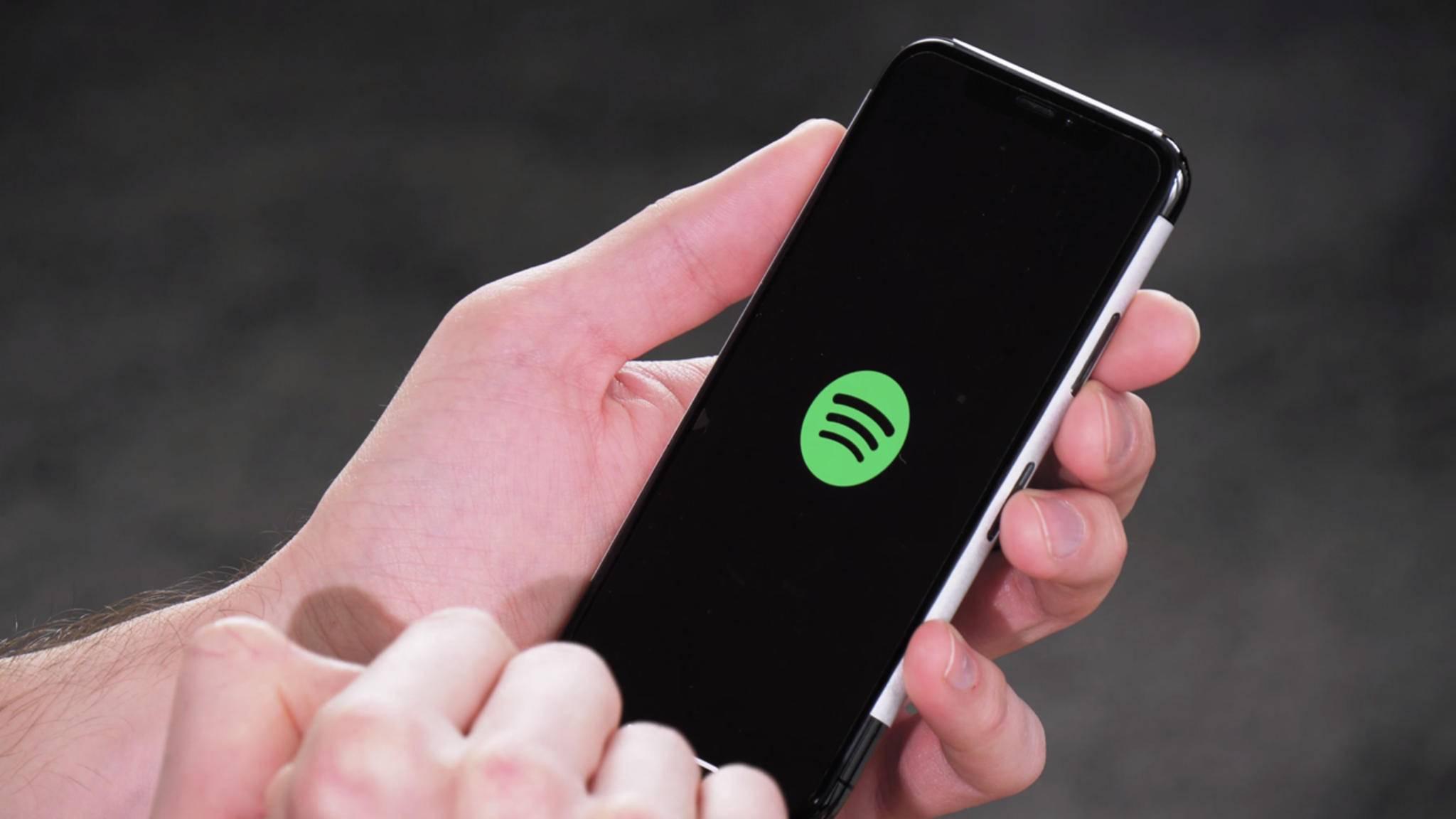 Kein Netz? Kein Problem dank Spotifys Offline-Feature.