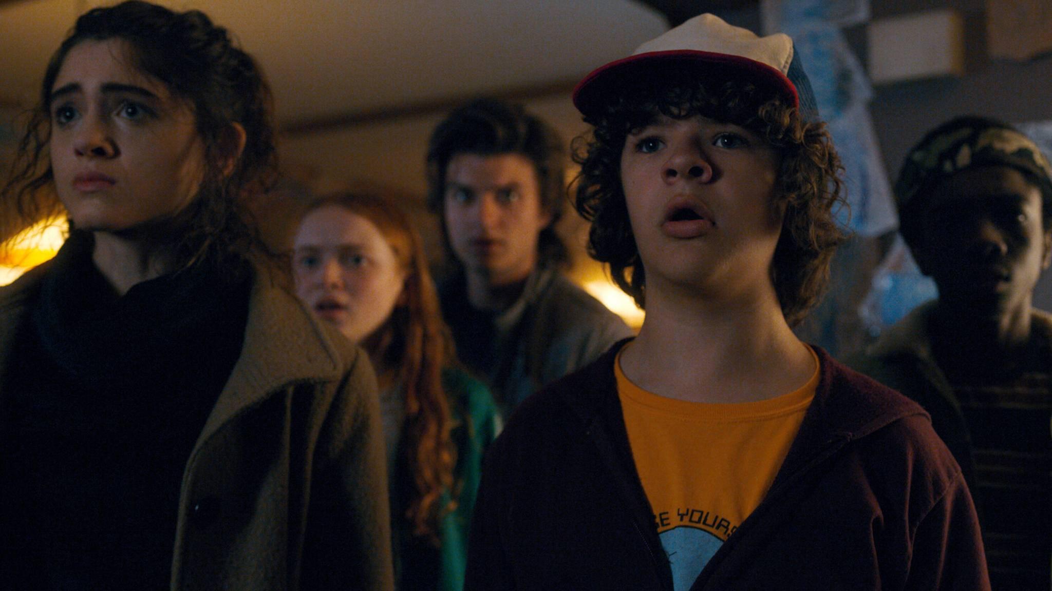 Dustin und seine Freunde bekommen es in Staffel 3 gleich mit zwei Monstern zu tun.