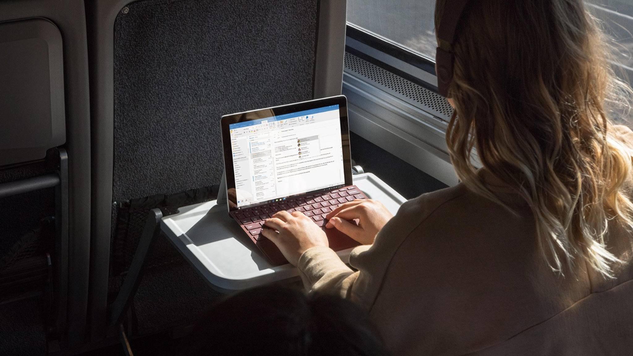 Das Surface Go ist das neue Einsteiger-Convertible von Microsoft.