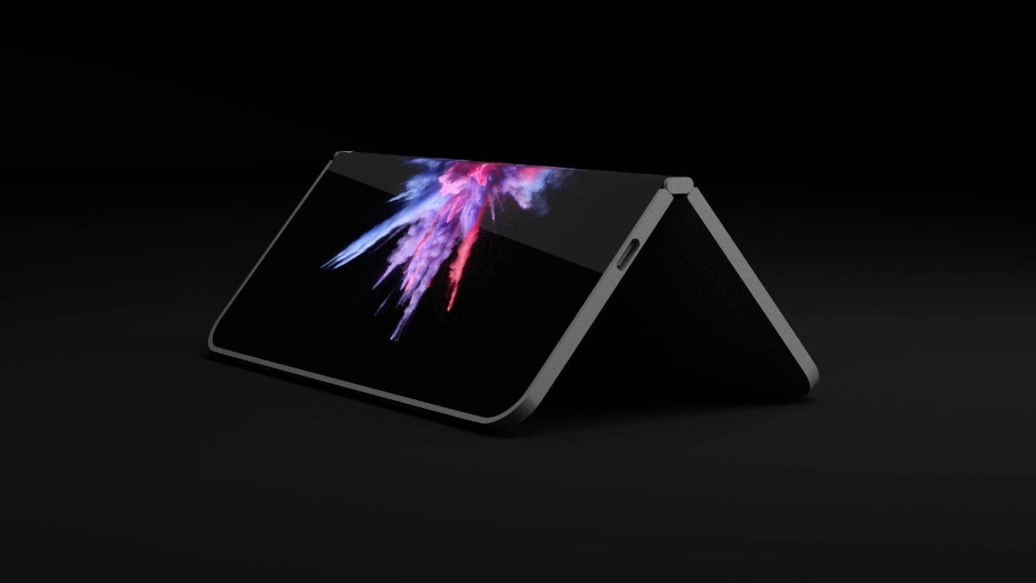 Surface-Phone-ähnliche Geräte sollen zukünftig mit Windows laufen.