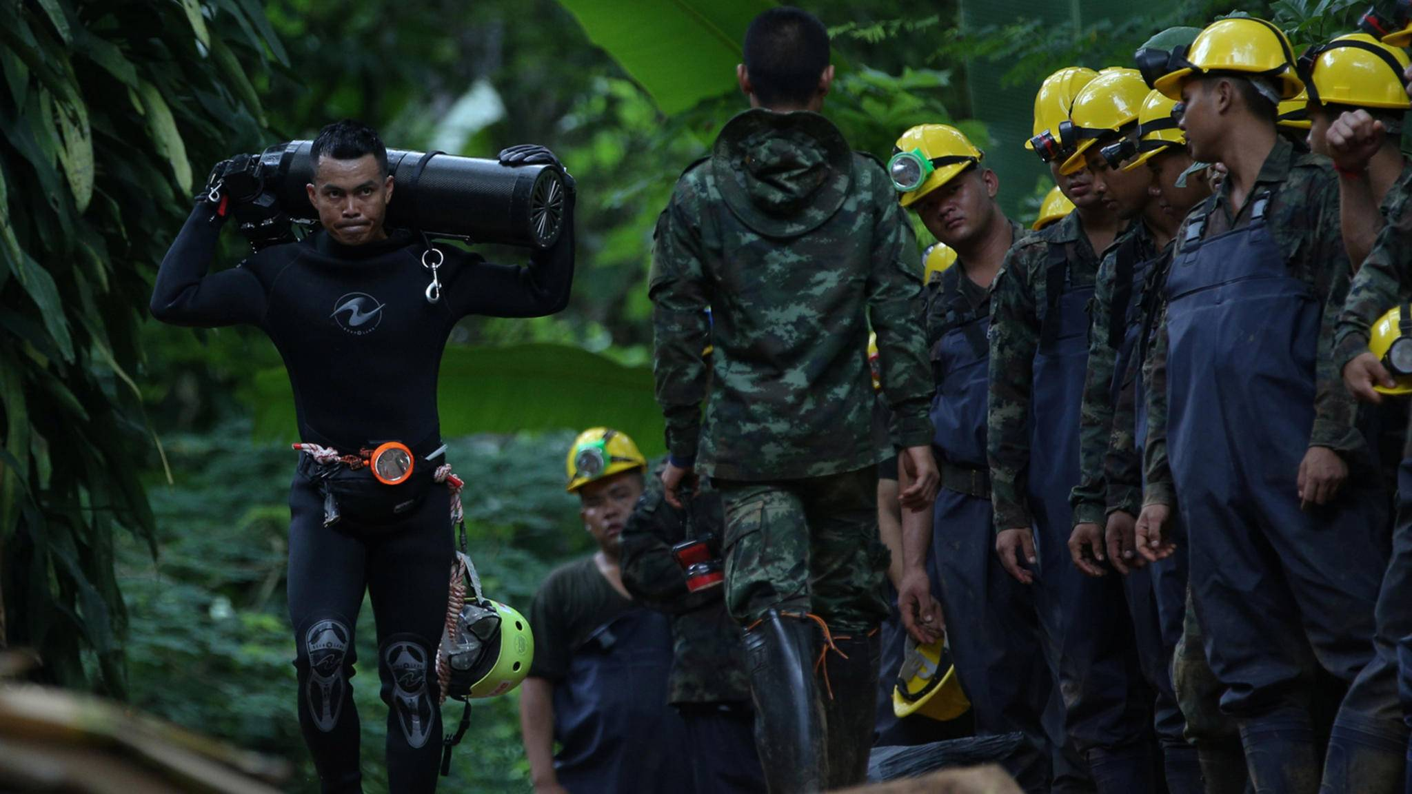 Das Drama, das sich in einer thailändischen Höhle abspielte, soll auf die Kinoleinwand gebracht werden.
