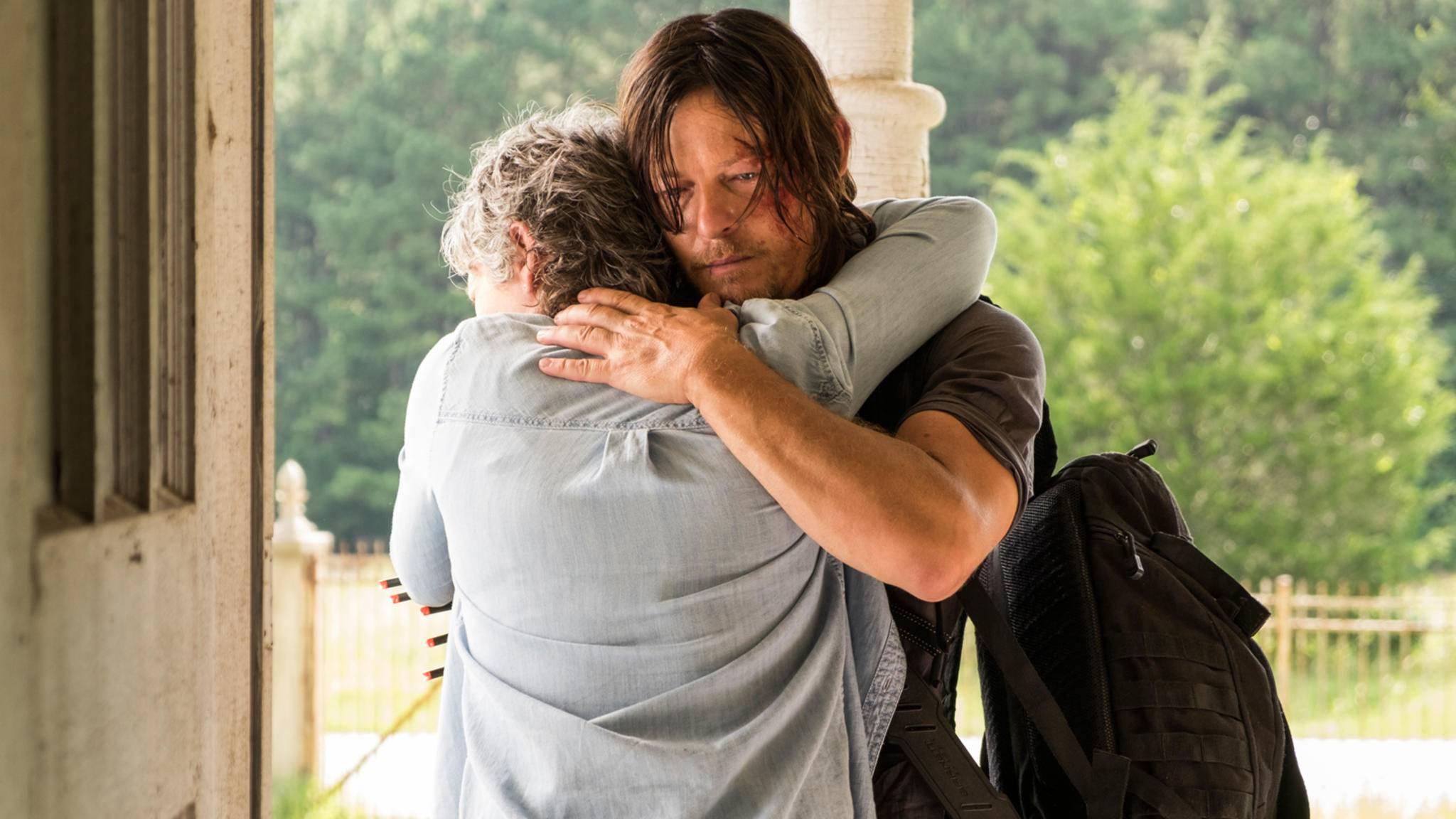 Ob Daryl und Carol in Staffel 9 endlich zueinanderfinden?