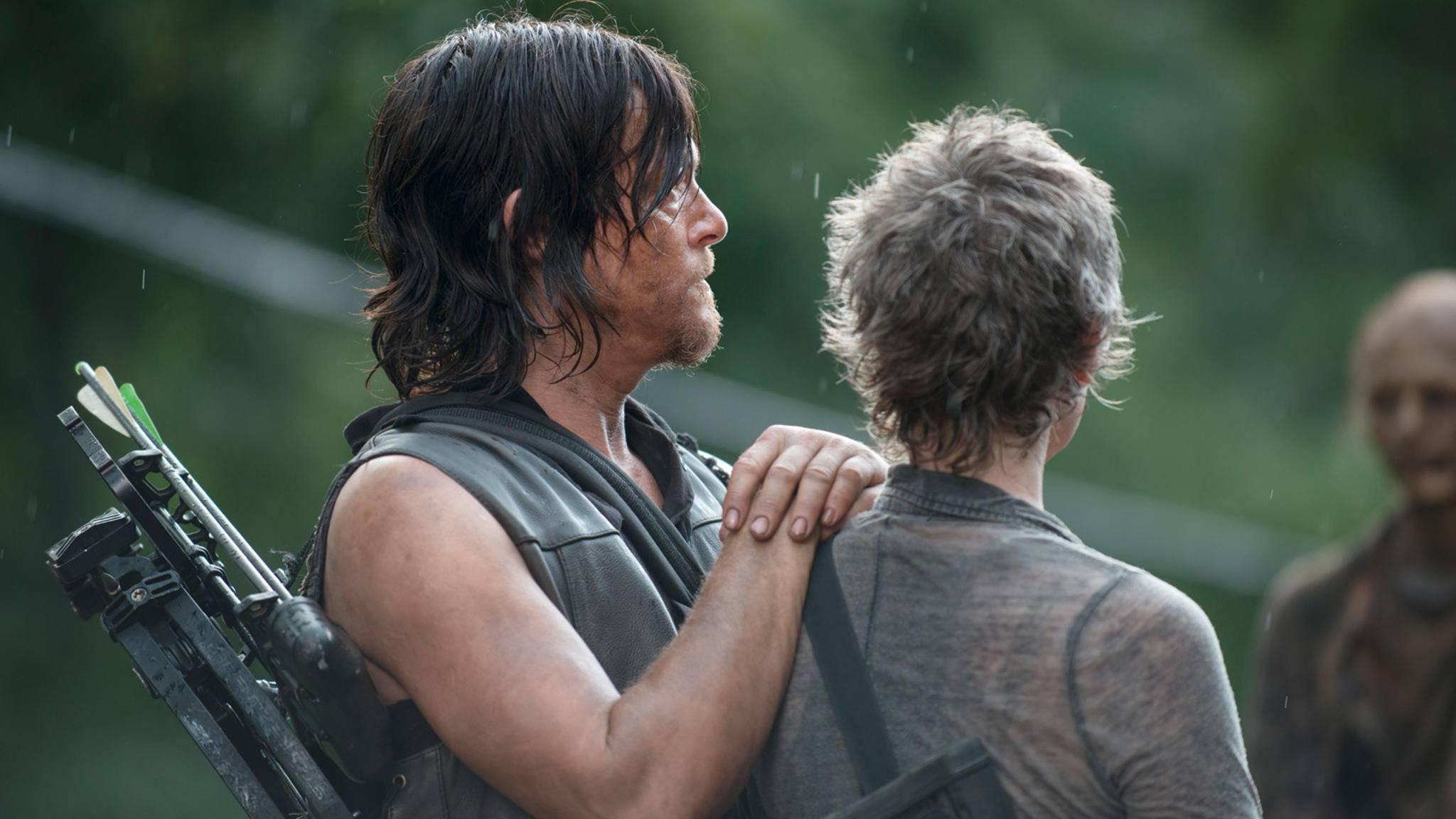 Ob aus Carol und Daryl in Staffel 9 doch noch was wird?