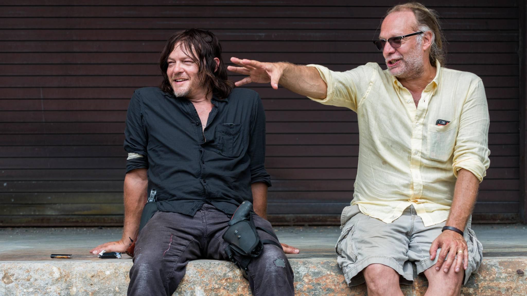 """Was Greg Nicotero wohl von Norman Reedus' Part in Staffel 9 von """"The Walking Dead"""" hält?"""