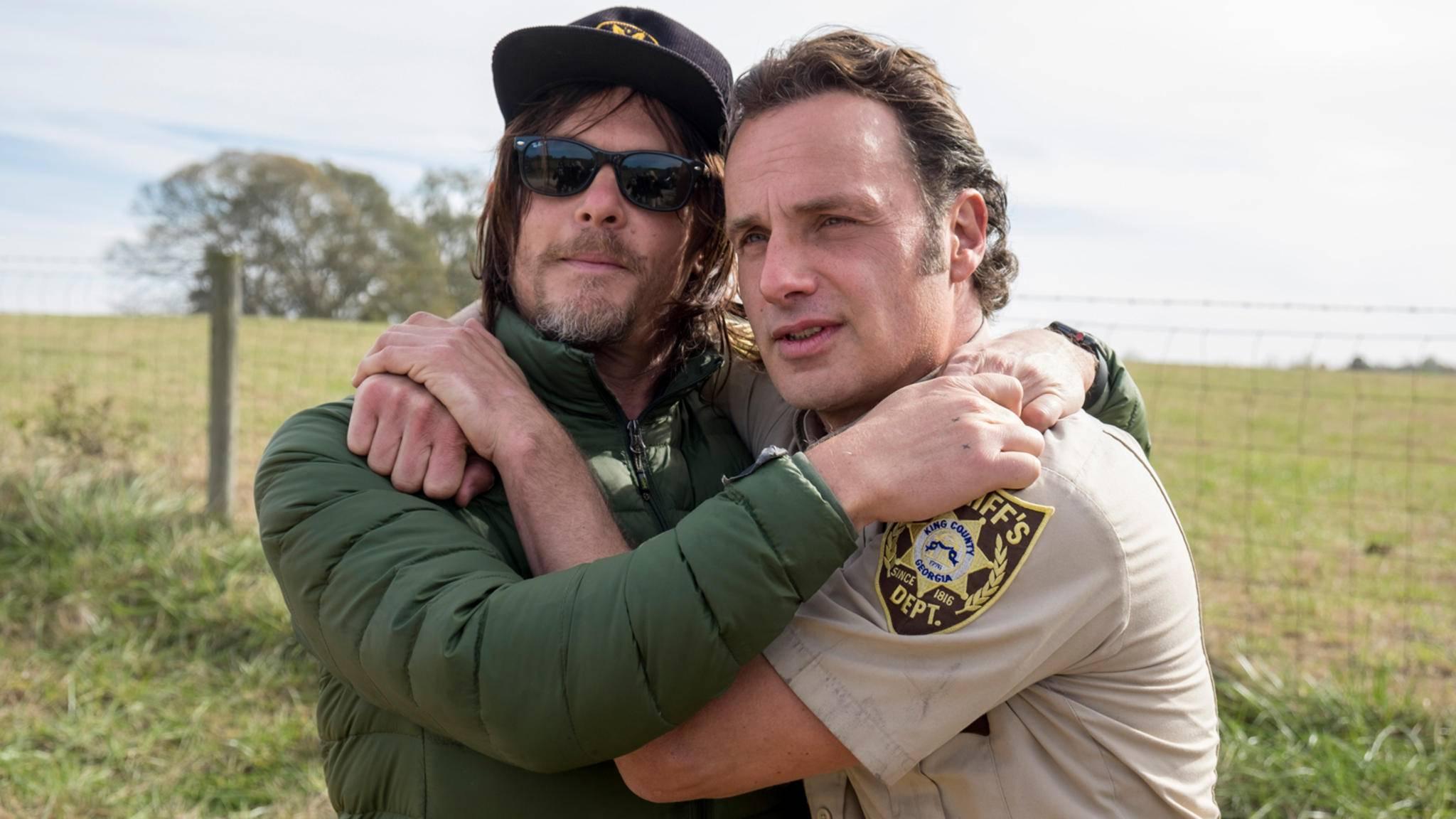 """Andrew Lincoln und Norman Reedus hatten eine ganze bestimmte Abmachung zu """"The Walking Dead""""."""