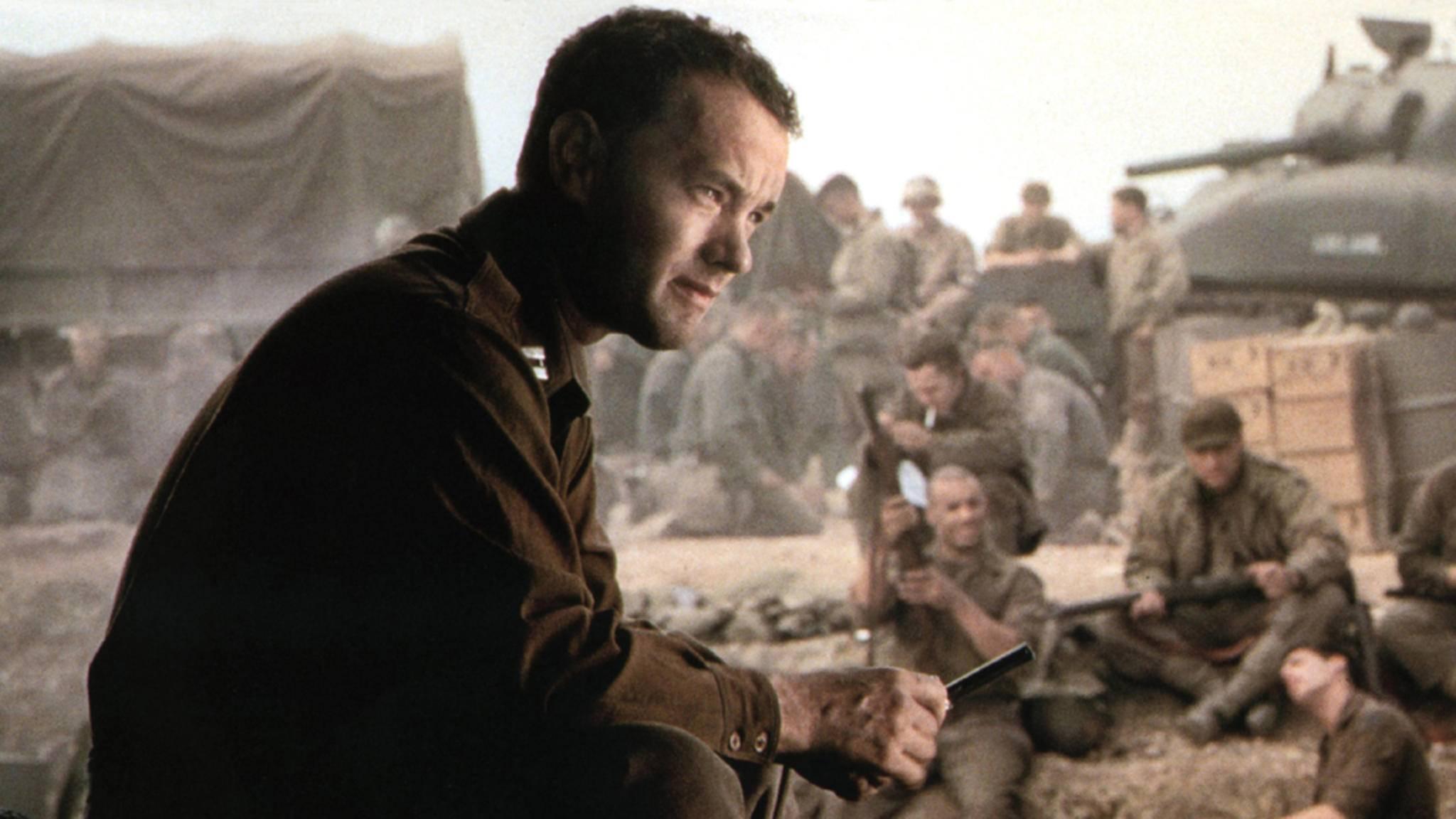 Captain Miller (Tom Hanks) setzt alles aufs Spiel, um Private Ryan heil nach Hause zu bringen.