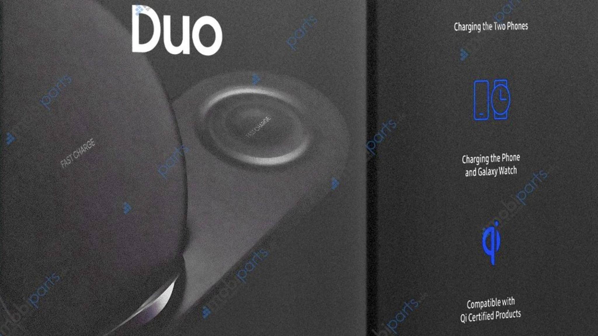 Der Samsung Wireless Charger Duo erlaubt das gleichzeitige Laden von Galaxy Note 9 und Galaxy Watch.
