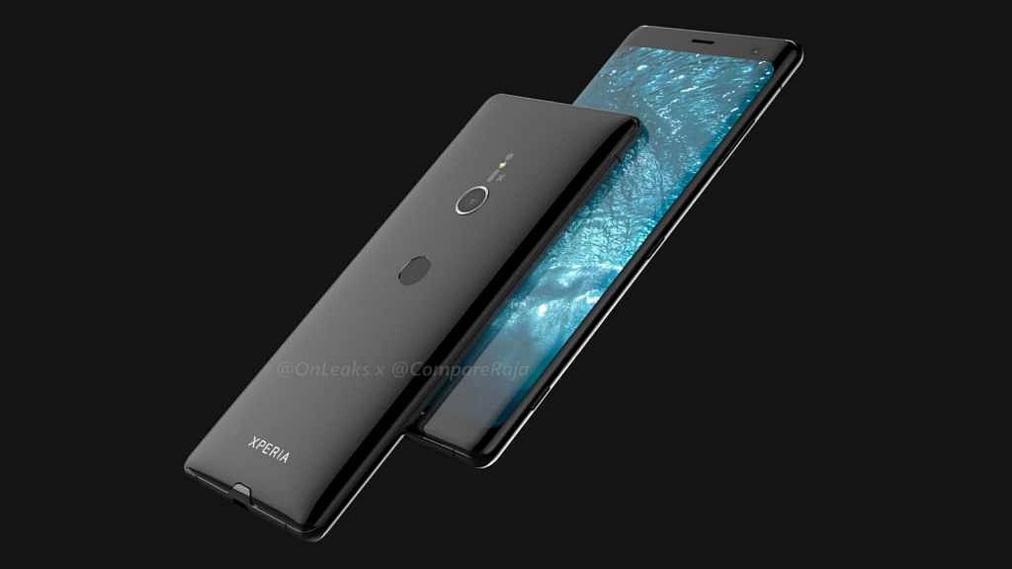So soll das Sony Xperia XZ3 aussehen.