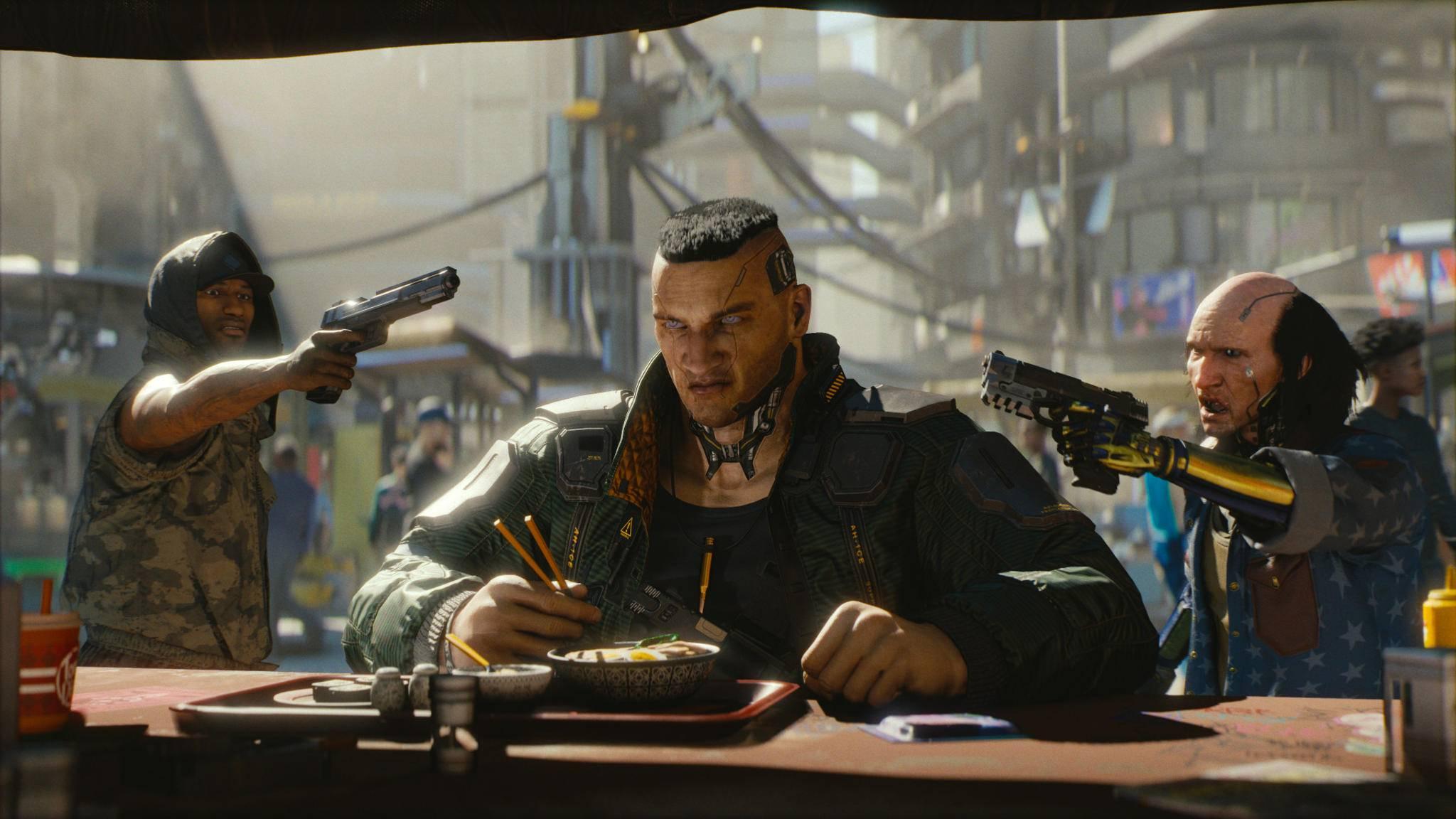 """""""Cyberpunk 2077"""" kann Dich lange fesseln, wenn Du nicht nur durch die Kampagne hetzt."""