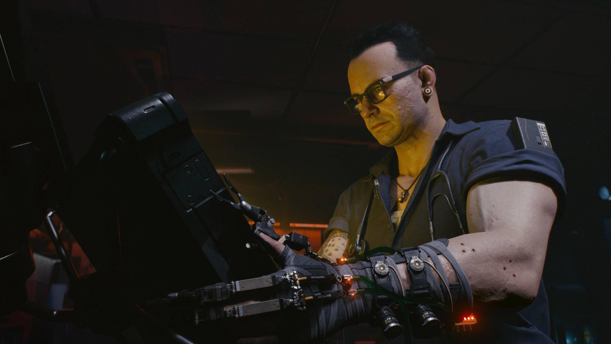 """Patch 1.2 bügelt jede Menge Fehler in """"Cyberpunk 2077"""" aus."""