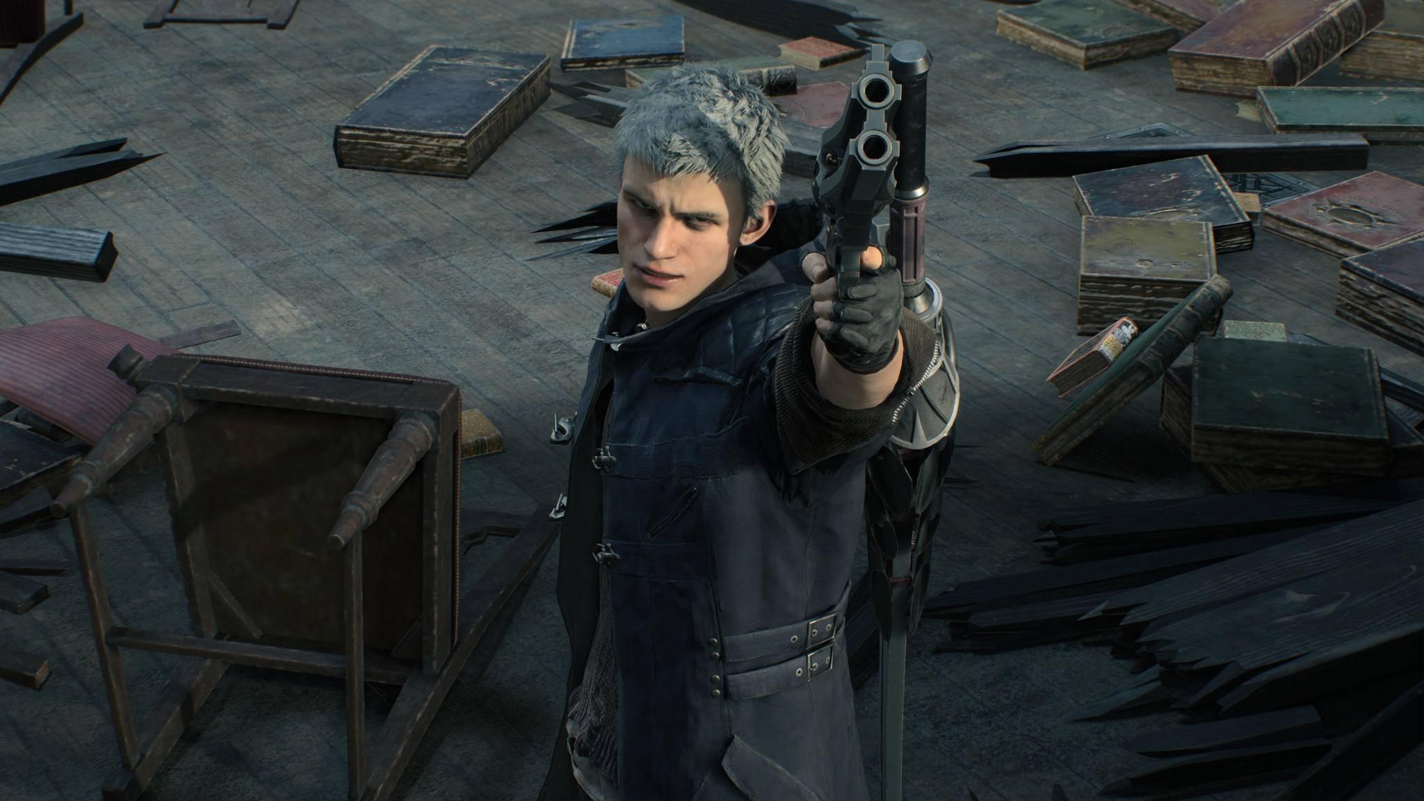 """Wir sind gespannt, was die """"Resident Evil""""-Engine in """"Devil May Cry 5"""" leisten wird."""