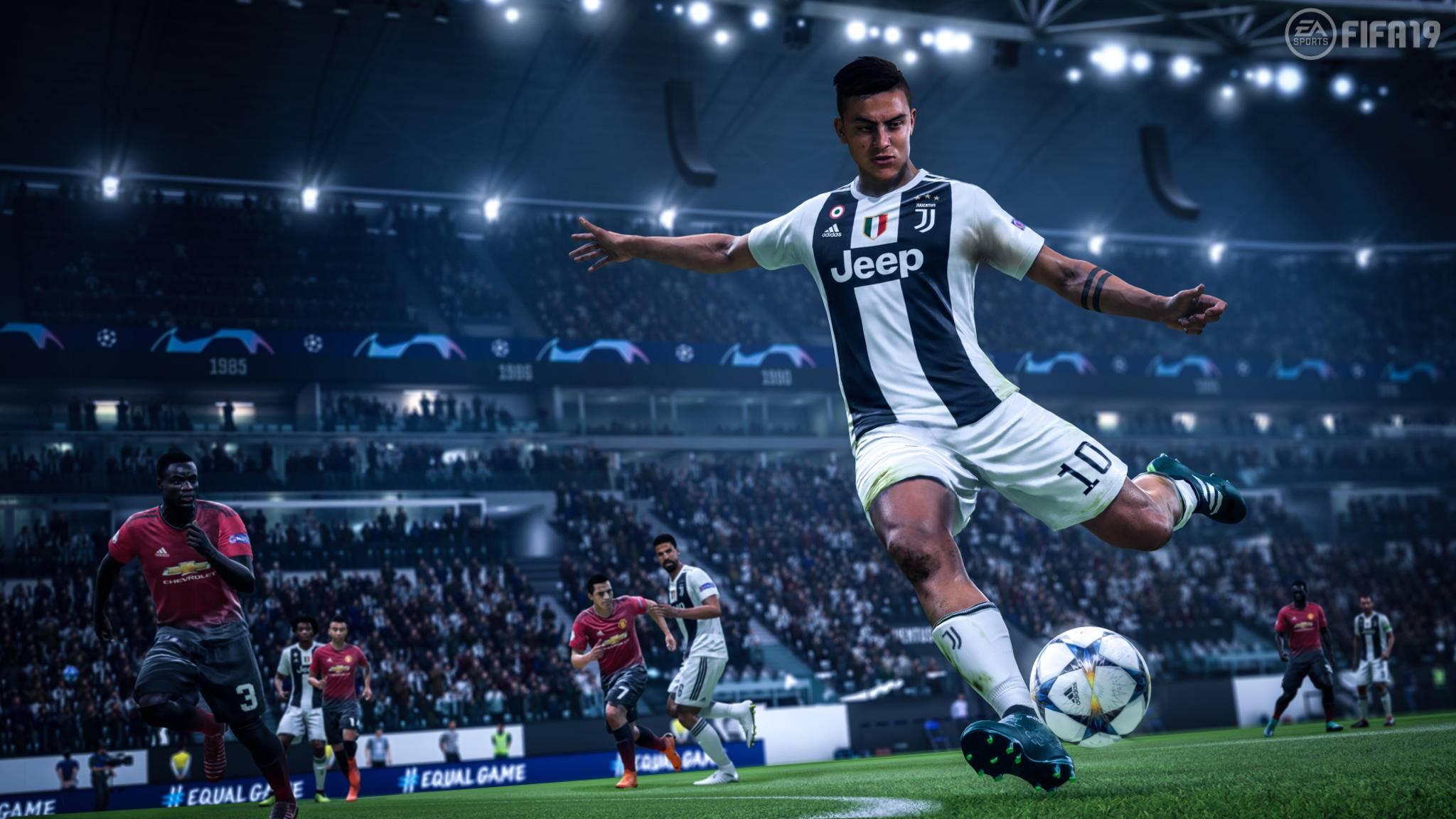 """In """"FIFA 19"""" geht's ums blanke Überleben – zumindest in einem kuriosen Spielmodus."""