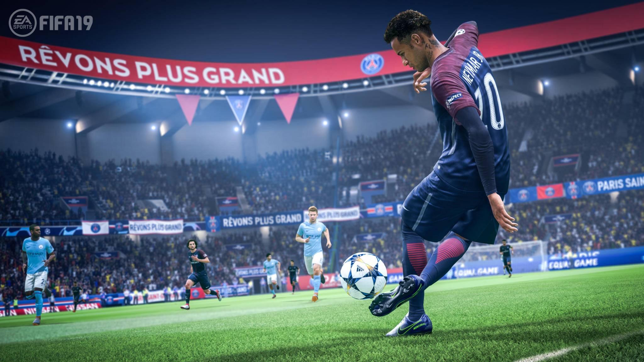 """""""FIFA 19"""" hlt sich offenbar Inspiration bei """"FIFA Street""""."""