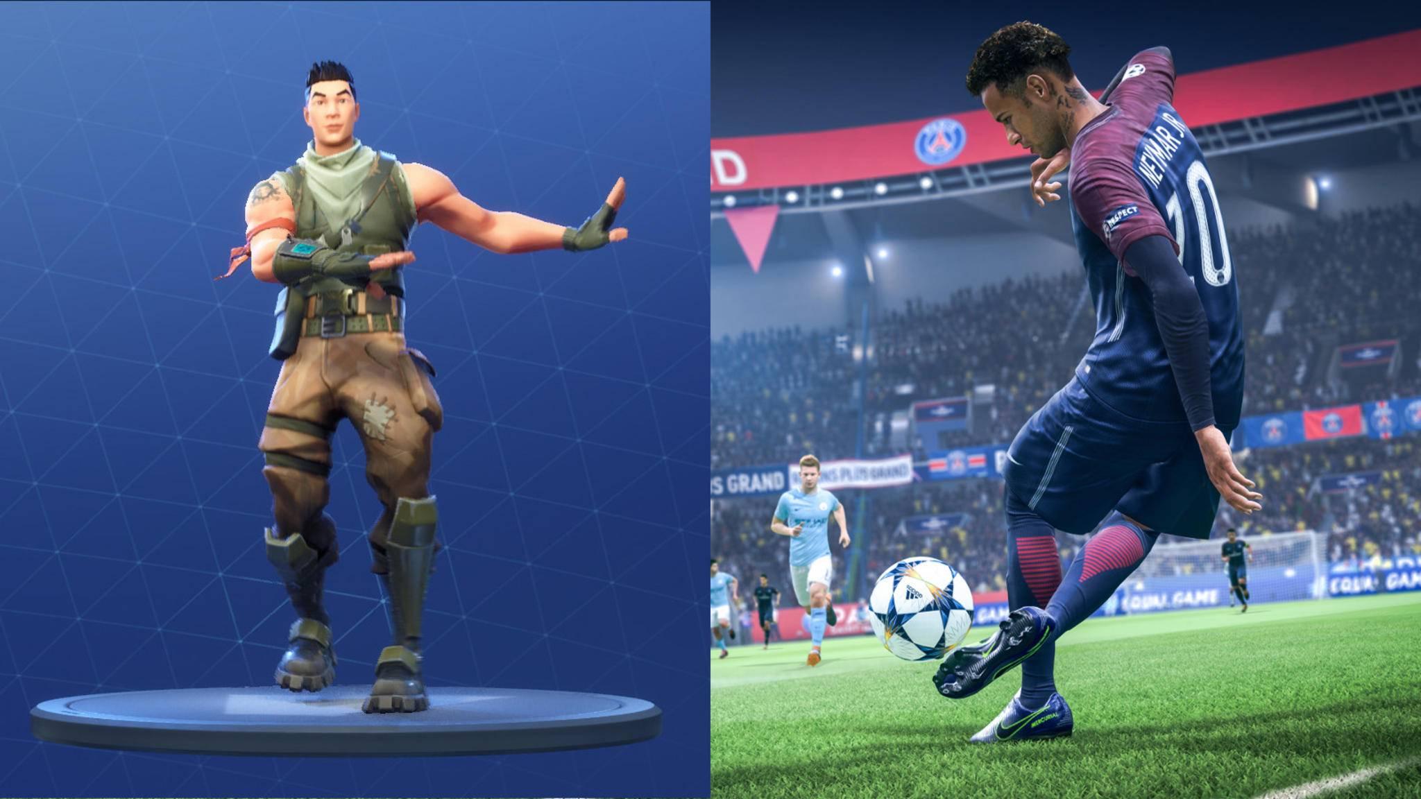 """""""Fortnite""""-Tänze in """"FIFA 19""""? Die Entwickler sind dafür!"""
