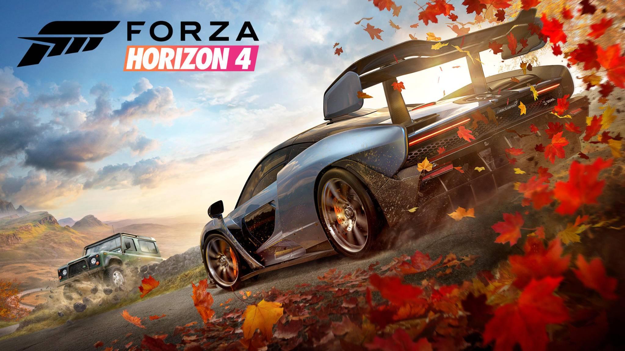 """Diesen Herbst brennt in """"Forza Horizon 4"""" auf Xbox One und PC wieder der Asphalt."""
