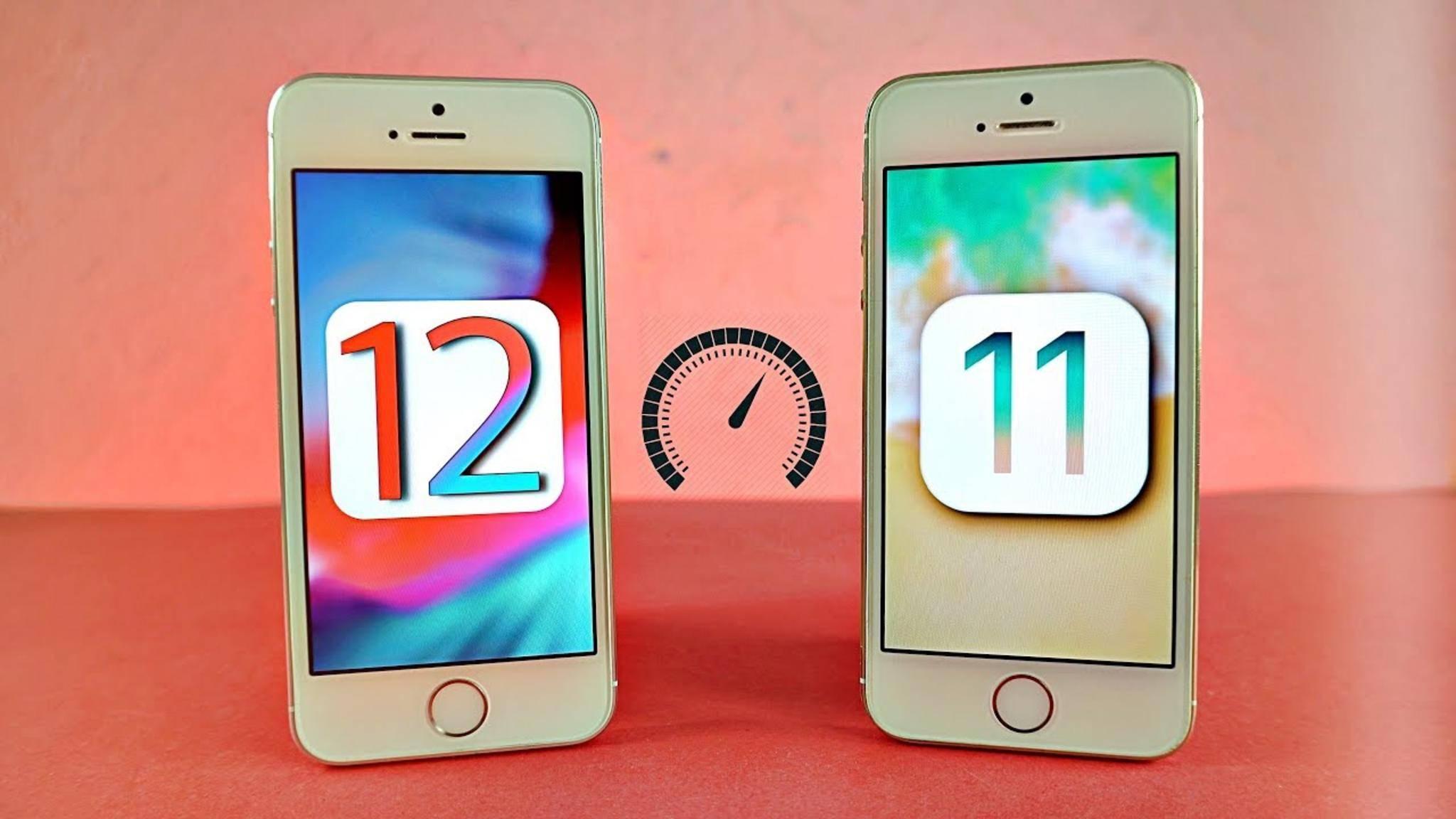 iOS 12 soll selbst dem alten iPhone 5s gehörig Beine machen.