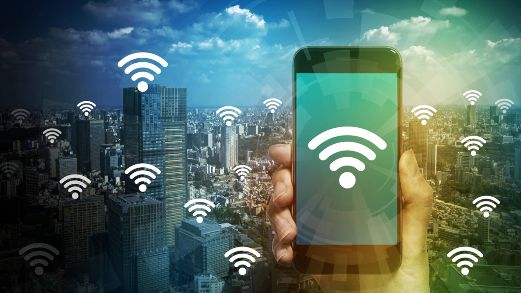 Das iPhone kann als mobiler Hotspot für andere Geräte dienen.