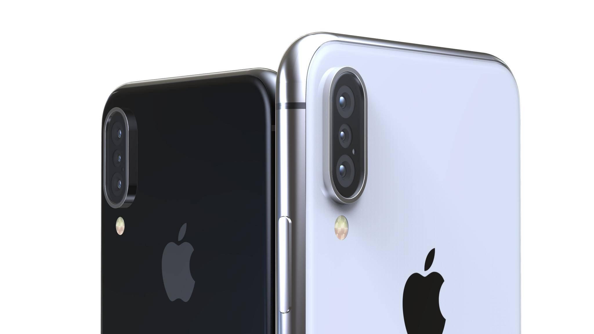 Ein iPhone X (2018) mit Triple-Kamera wie in diesem Konzept bleibt wohl vorerst eine Wunschvorstellung.