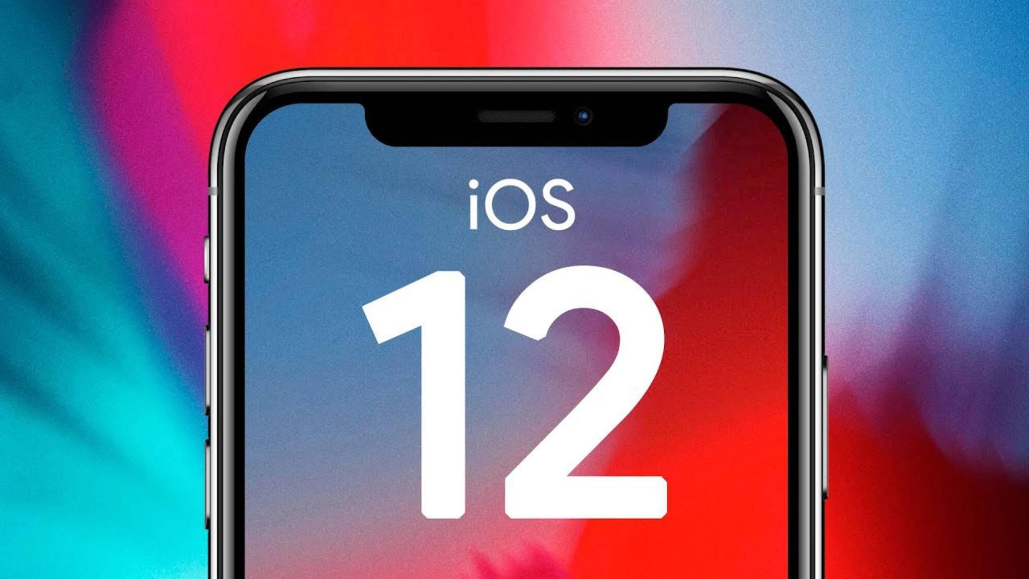 iOS 12 erschien im September 2018.