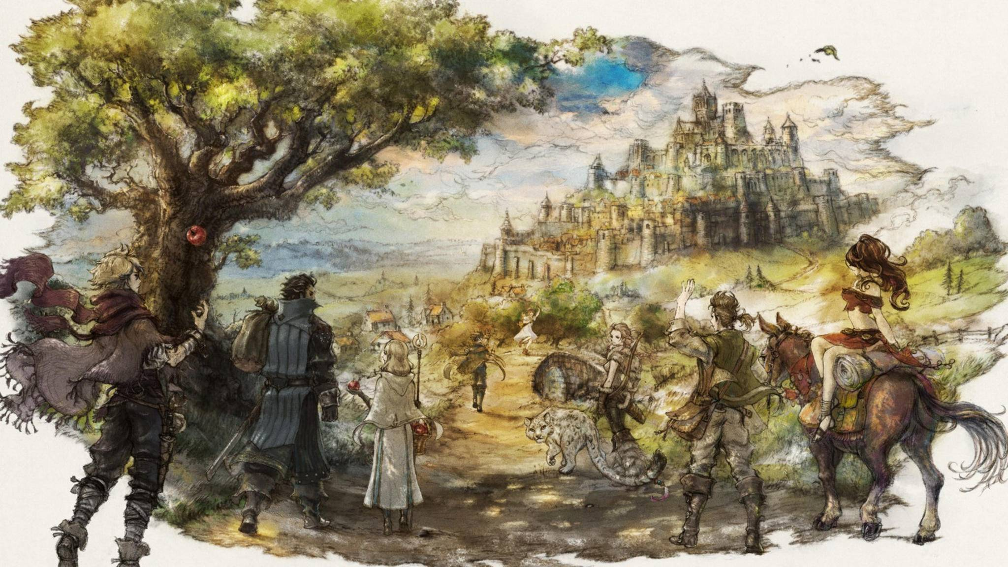 """Octopath Traveler"" bringt Retro-Flair auf die Switch."
