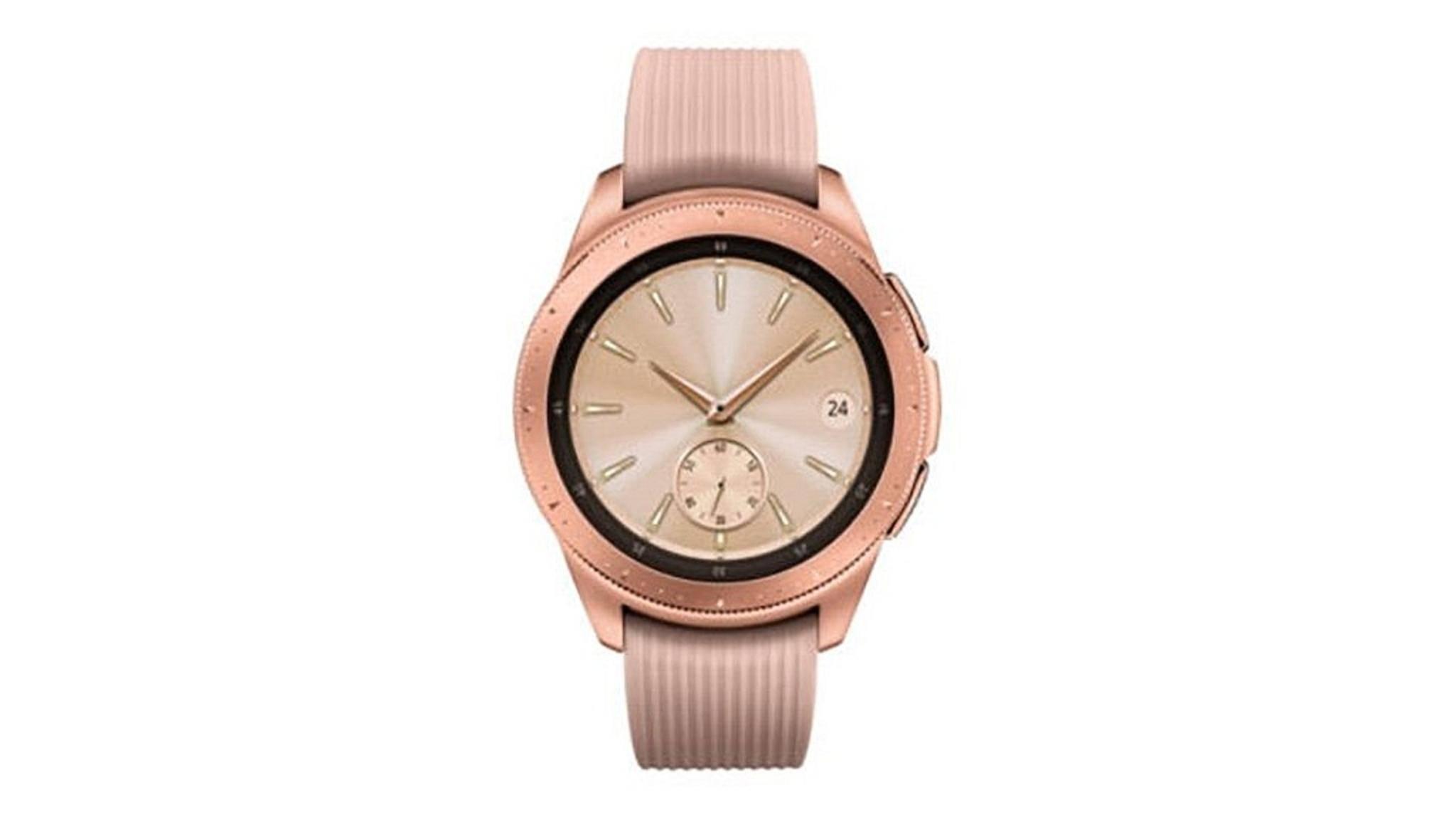 Samsung veröffentlichte kurz dieses Bild von der Galaxy Watch.