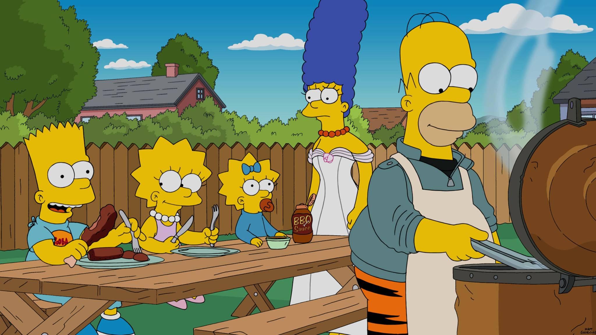 """""""Die Simpsons"""" haben hierzulande deutsche Synchronsprecher – doch welche?"""