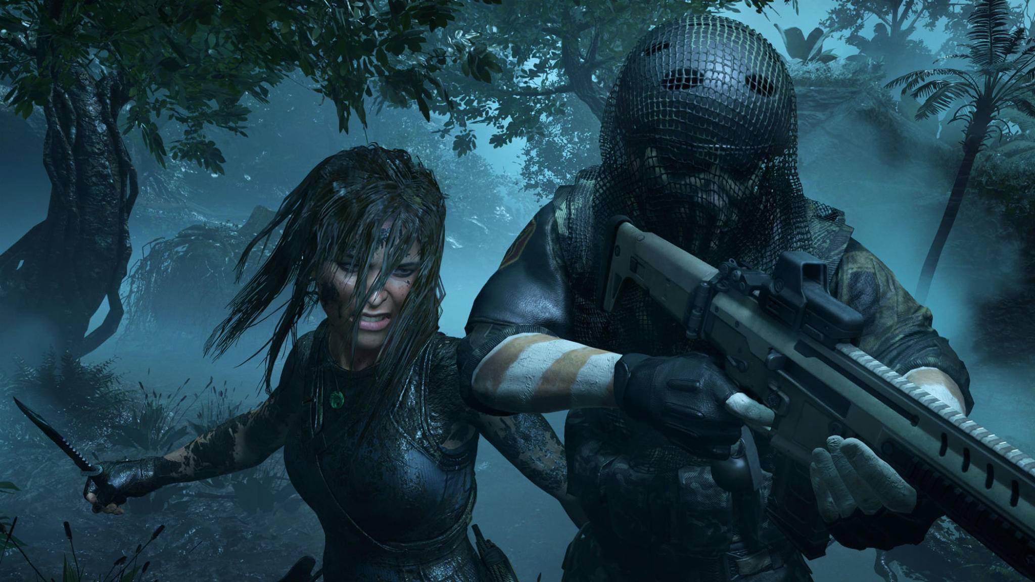 "Lara Crofts Entwicklung in ""Shadow of the Tomb Raider"" ist beunruhigend."