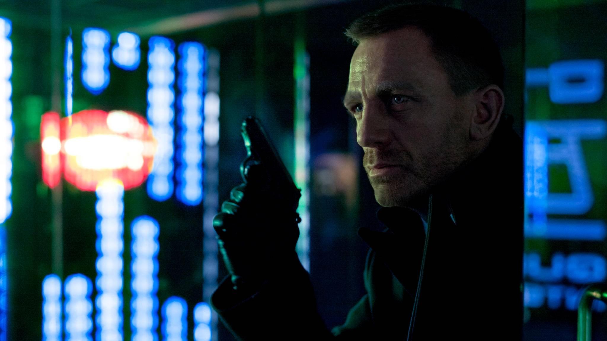 Kommt er in friedlicher Absicht? 007-Darsteller Daniel Craig besucht die CIA.