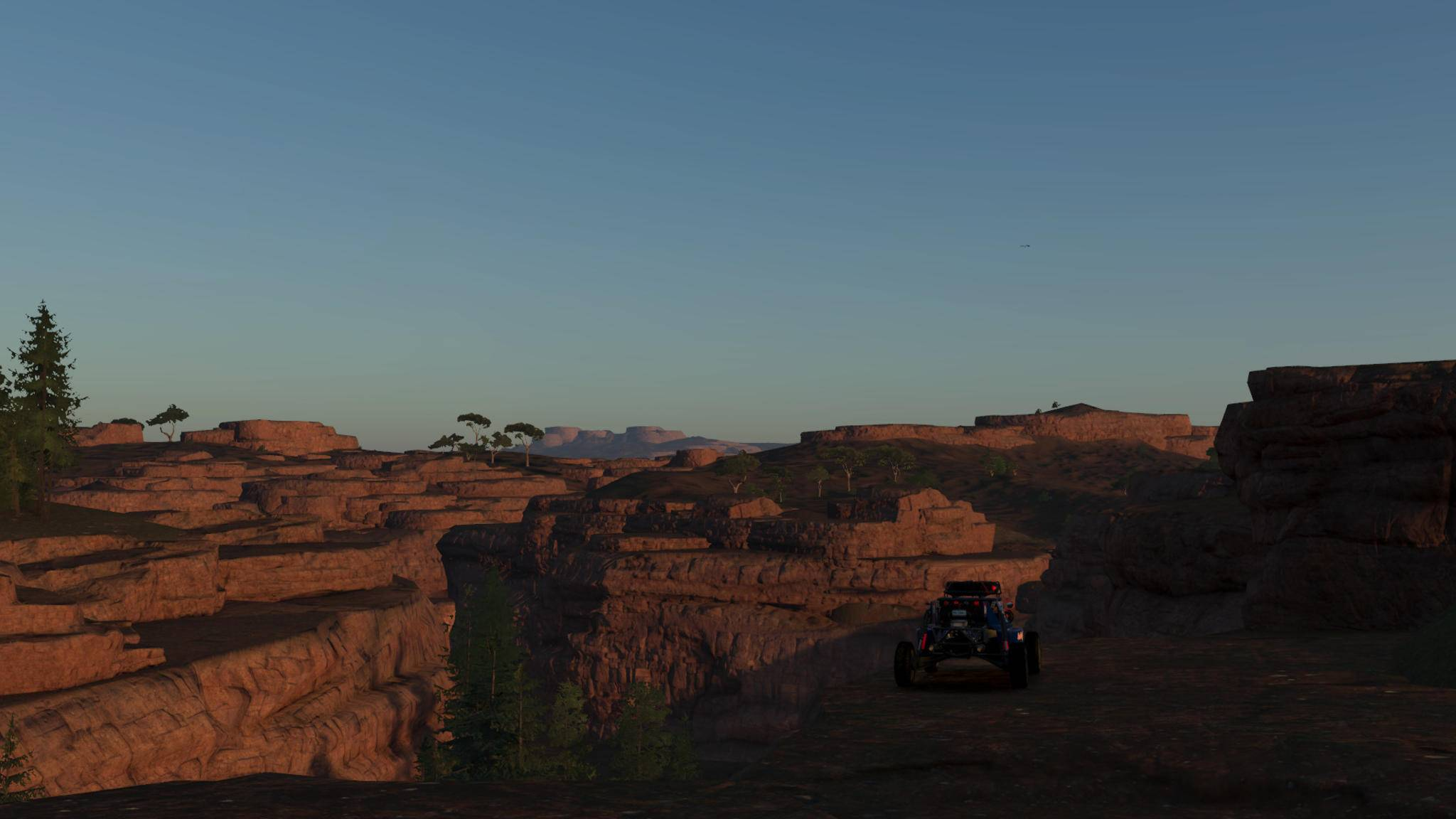 Spritztouren durchs Gelände werden oft mit tollen Ausblicken belohnt.