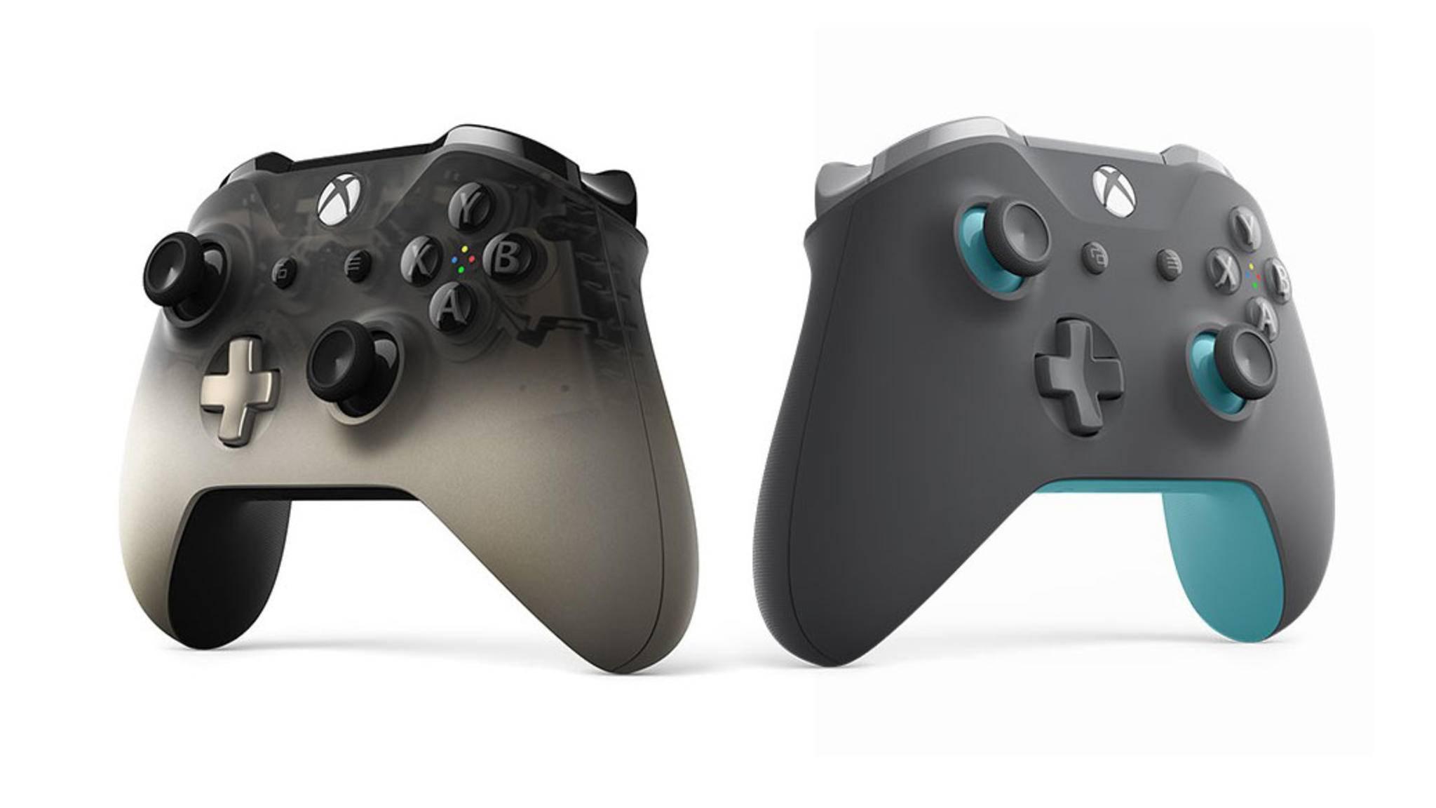 Beide neuen Xbox-One-Wireless-Controller werden für jeweils rund 65 Euro verkauft.