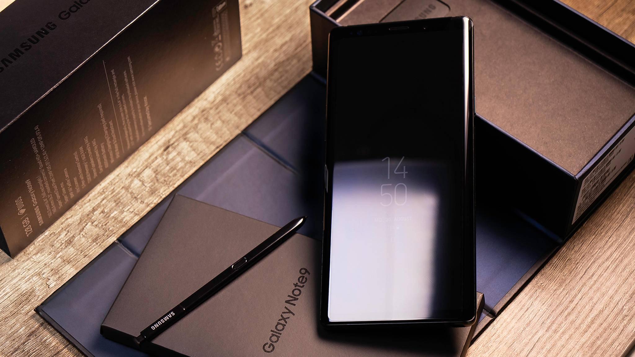 Das Always-On-Display ist bei Samsung mittlerweile Standard.